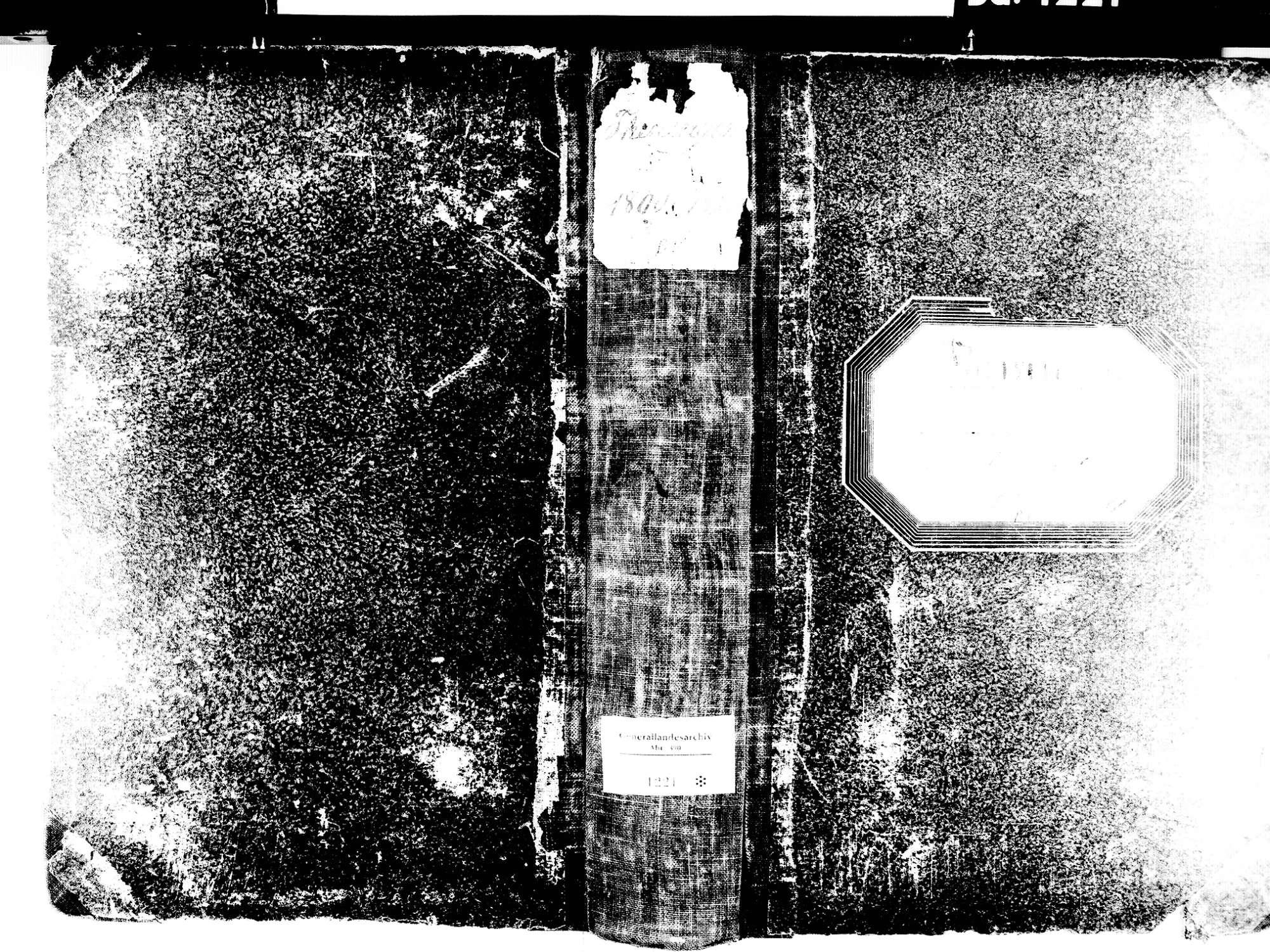 Teningen EM; Evangelische Gemeinde: Standesbuch 1800-1820, Bild 1
