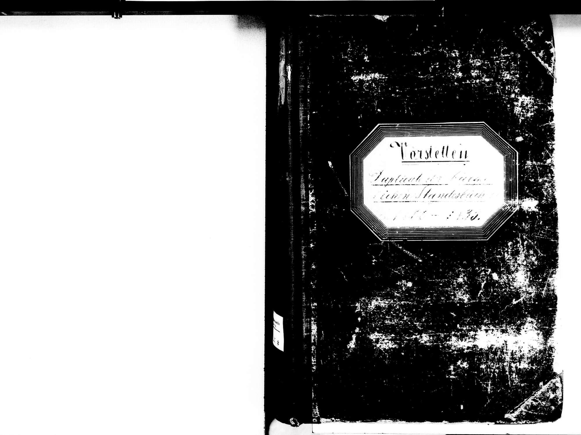 Vörstetten EM; Evangelische Gemeinde: Standesbuch 1800-1835 Enthält: Einzelne Katholische Einträge, Bild 2