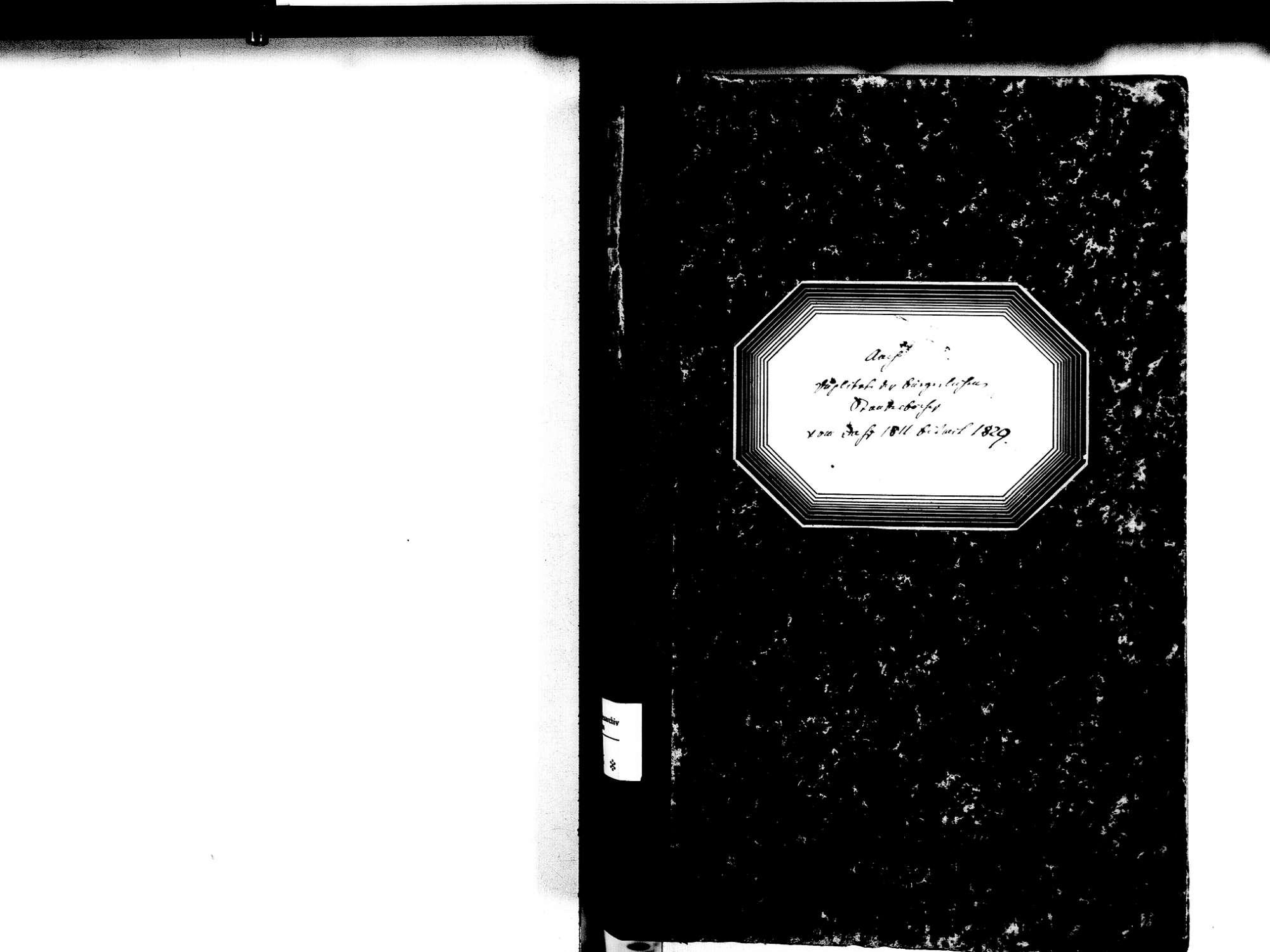 Aach KN; Katholische Gemeinde: Standesbuch 1811-1829, Bild 2