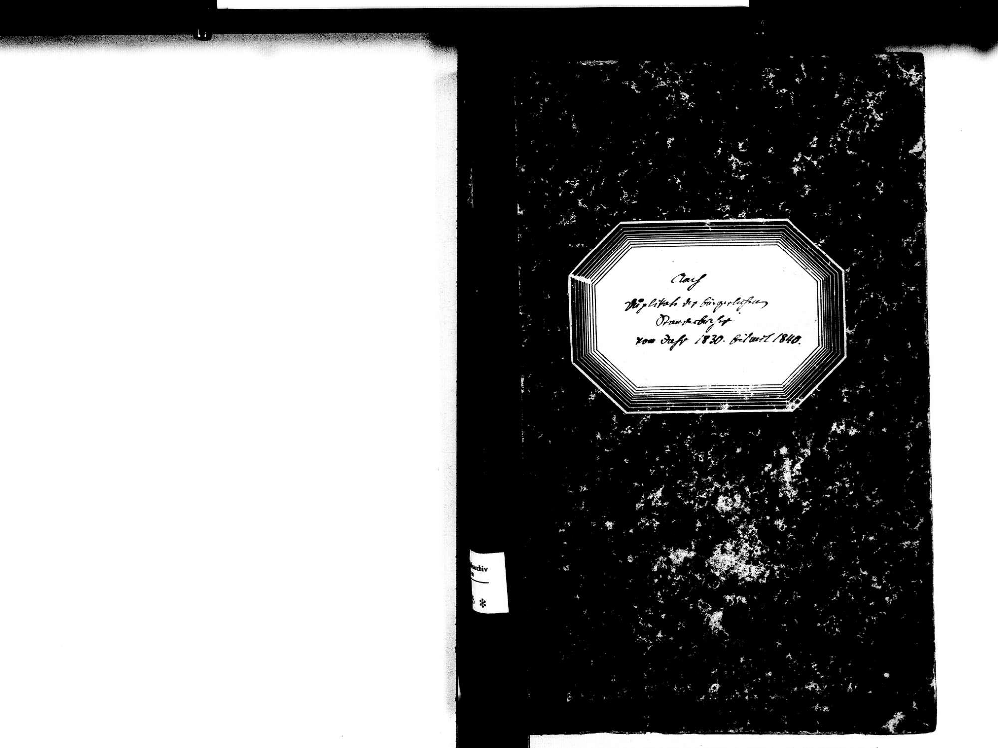 Aach KN; Katholische Gemeinde: Standesbuch 1830-1840, Bild 2