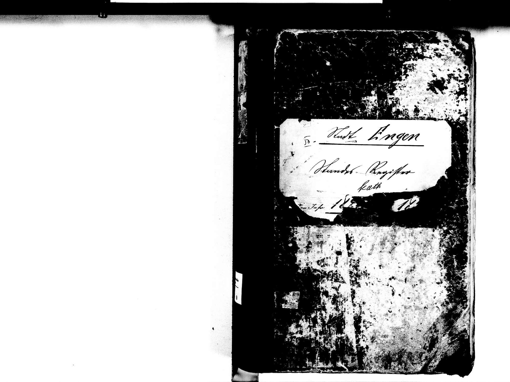 Engen KN; Katholische Gemeinde: Standesbuch 1843-1855, Bild 2