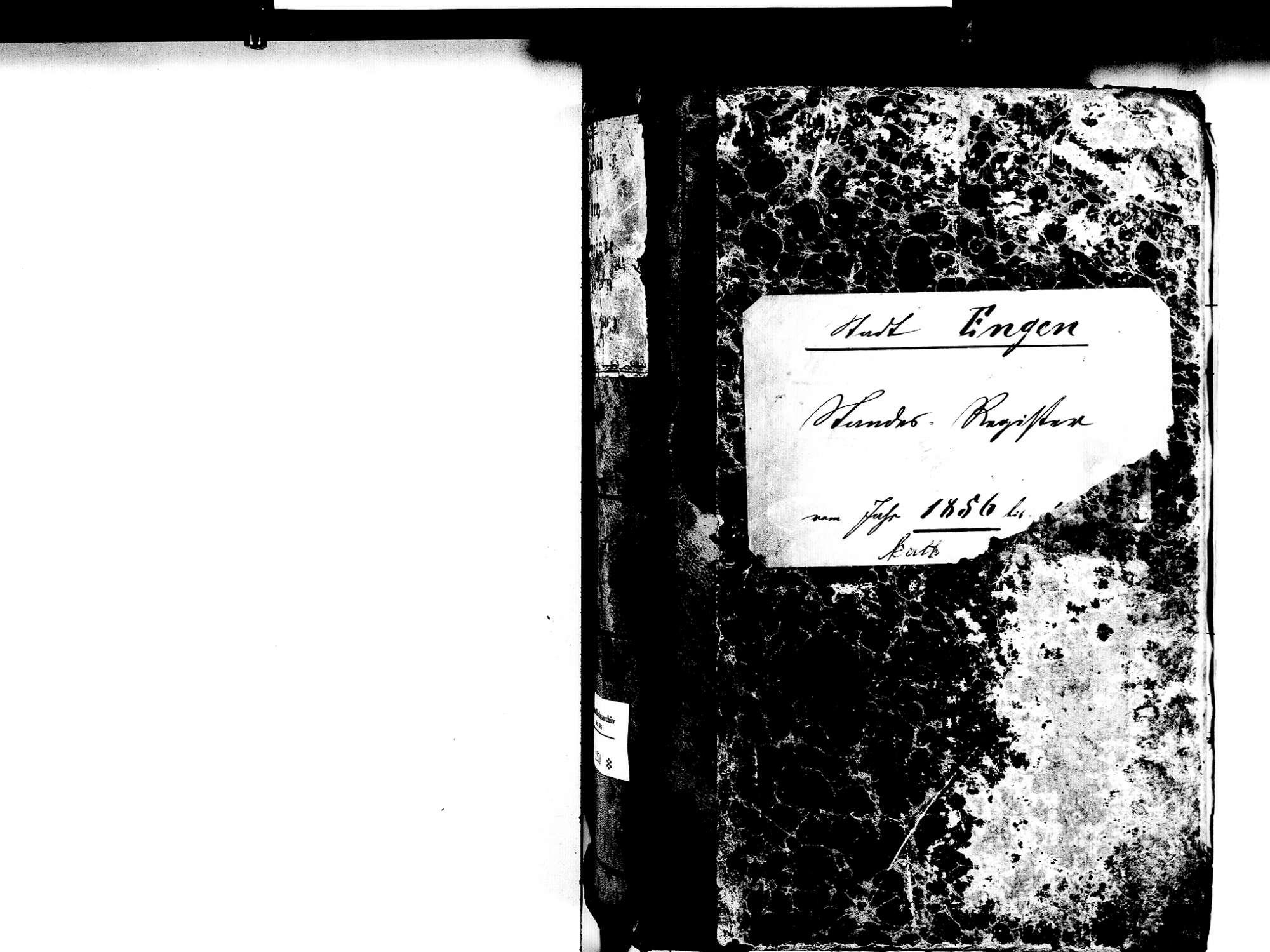 Engen KN; Katholische Gemeinde: Standesbuch 1856-1869, Bild 2