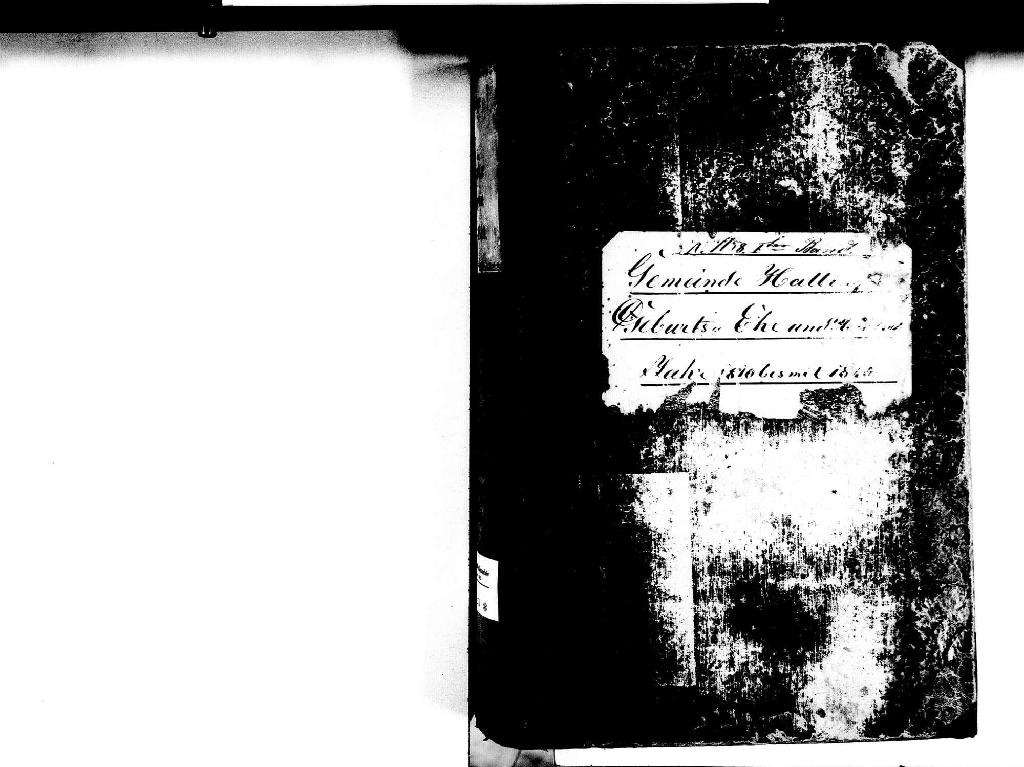 Hattingen, Immendingen TUT; Katholische Gemeinde: Standesbuch 1810-1840, Bild 2