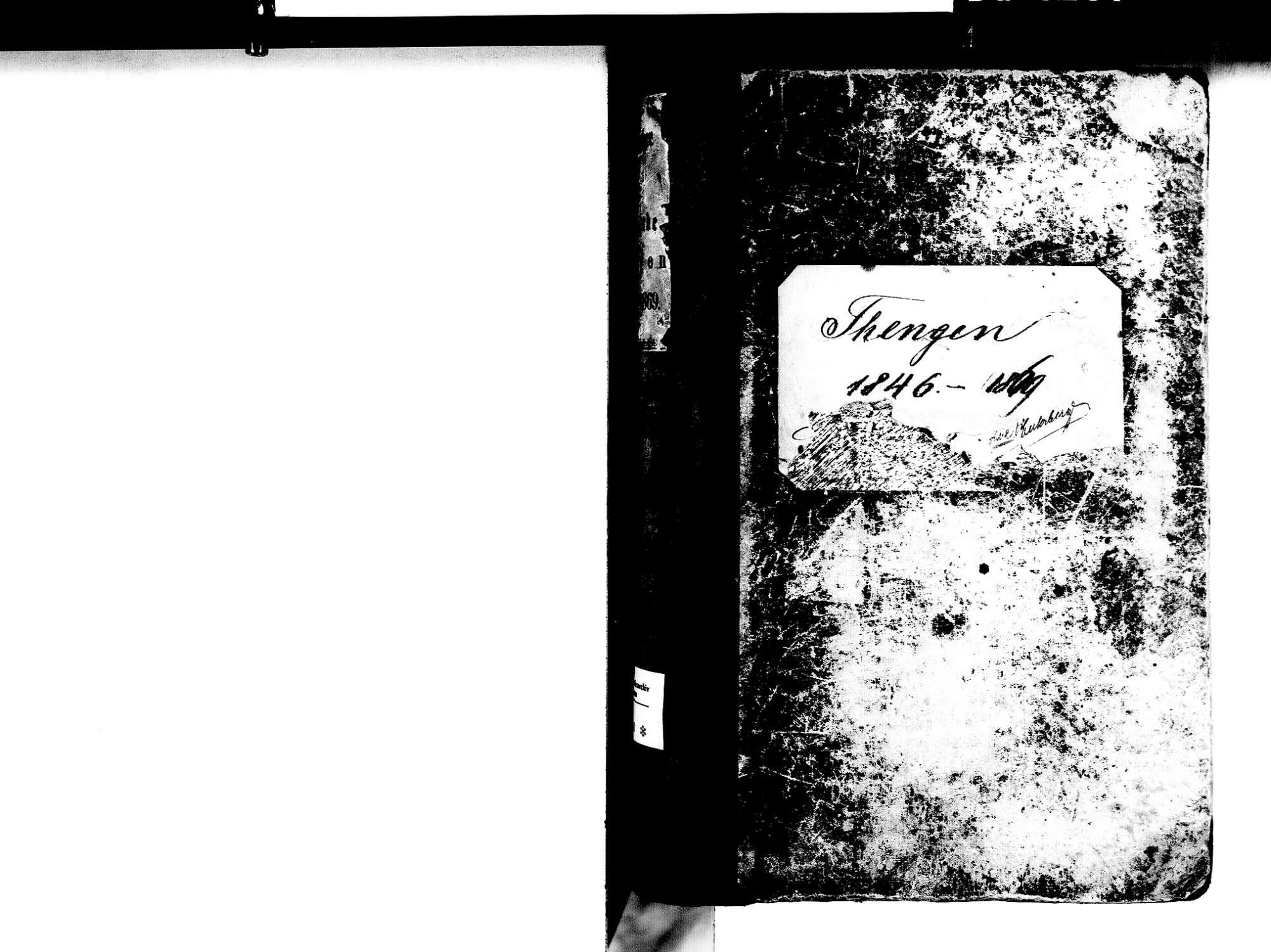 Tengen KN; Katholische Gemeinde: Standesbuch 1846-1869, Bild 3
