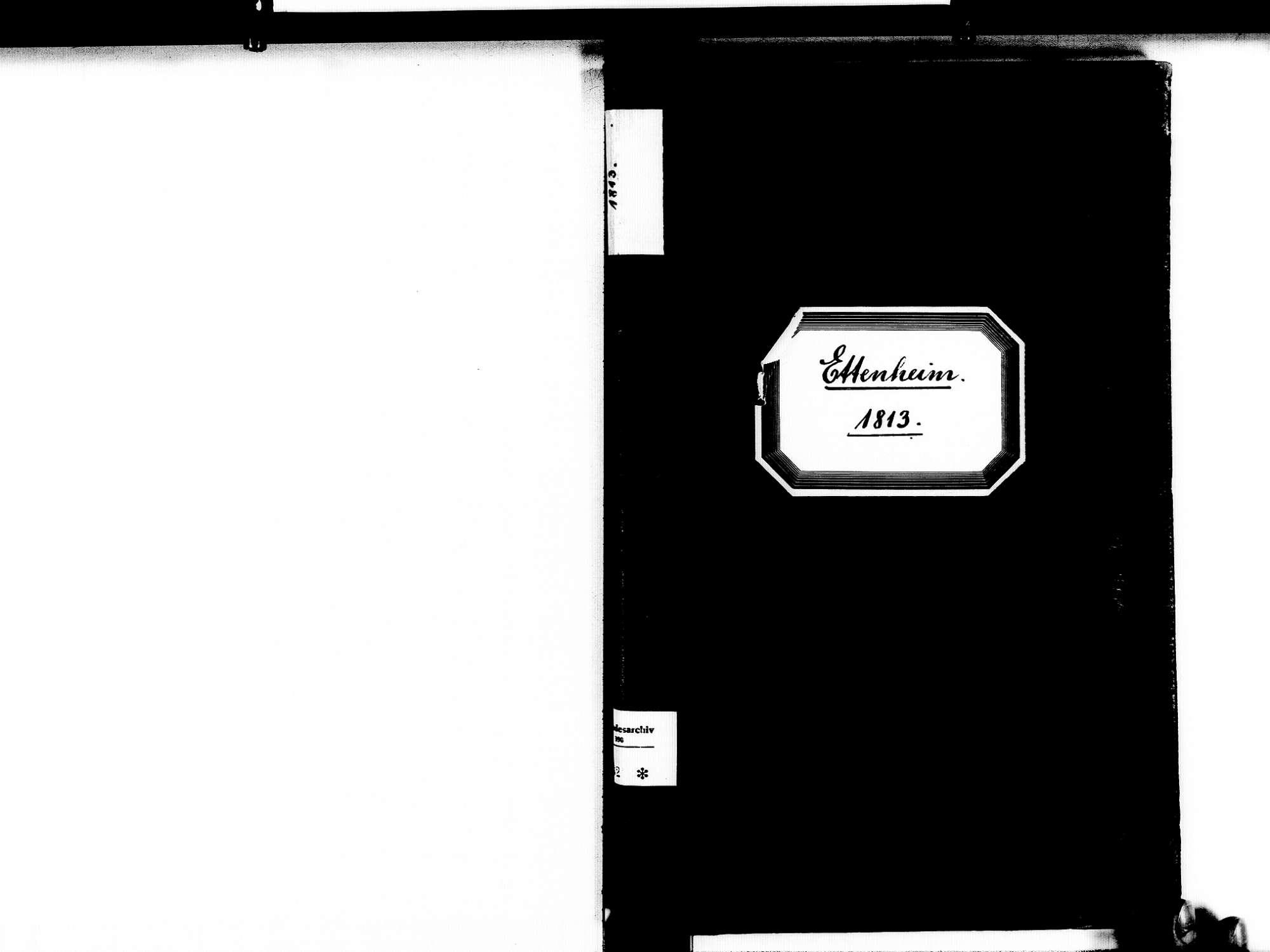 Ettenheim OG; Katholische Gemeinde: Standesbuch 1813, Bild 2
