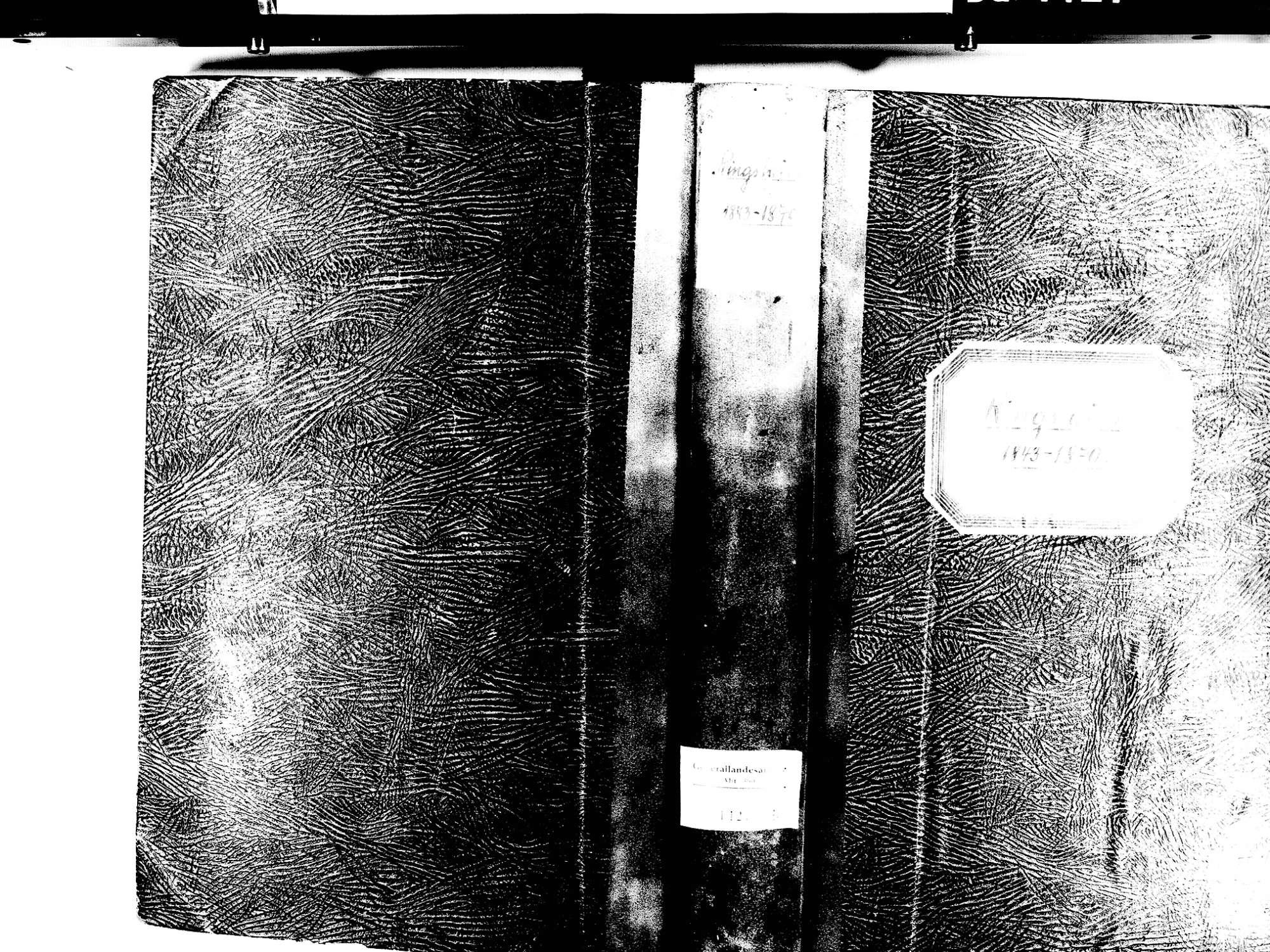 Ringsheim OG; Katholische Gemeinde: Geburtenbuch 1843-1870, Bild 1