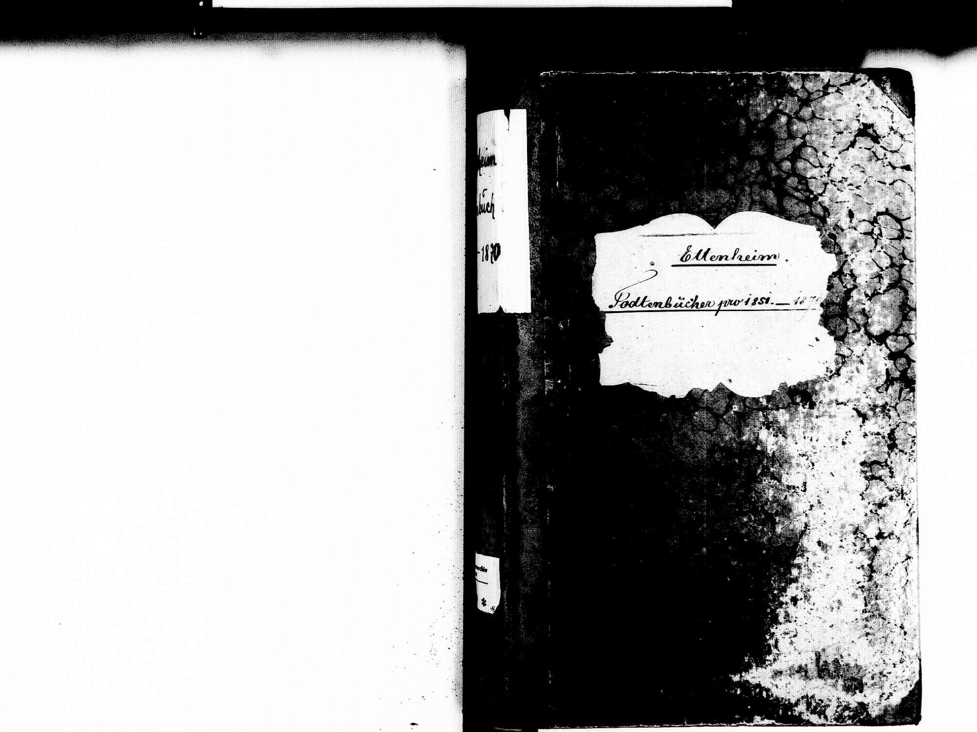 Ettenheim OG; Katholische Gemeinde: Sterbebuch 1851-1870, Bild 2