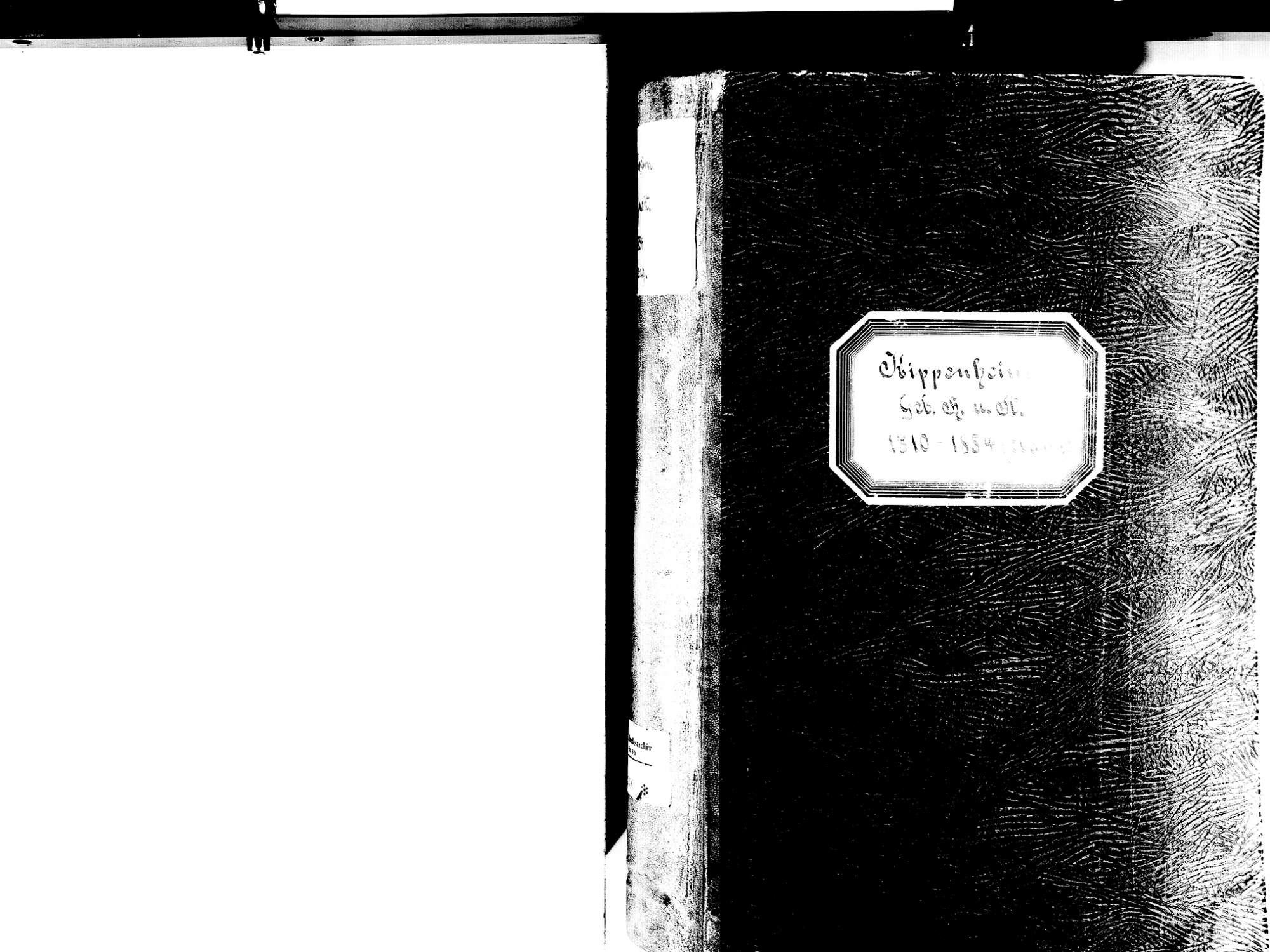 Kippenheim OG; Evangelische Gemeinde: Standesbuch 1810-1854, Bild 2