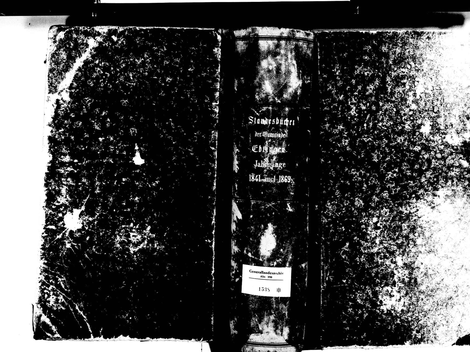 Ebringen FR; Katholische Gemeinde: Standesbuch 1841-1869, [1870 nur Januar], Bild 2