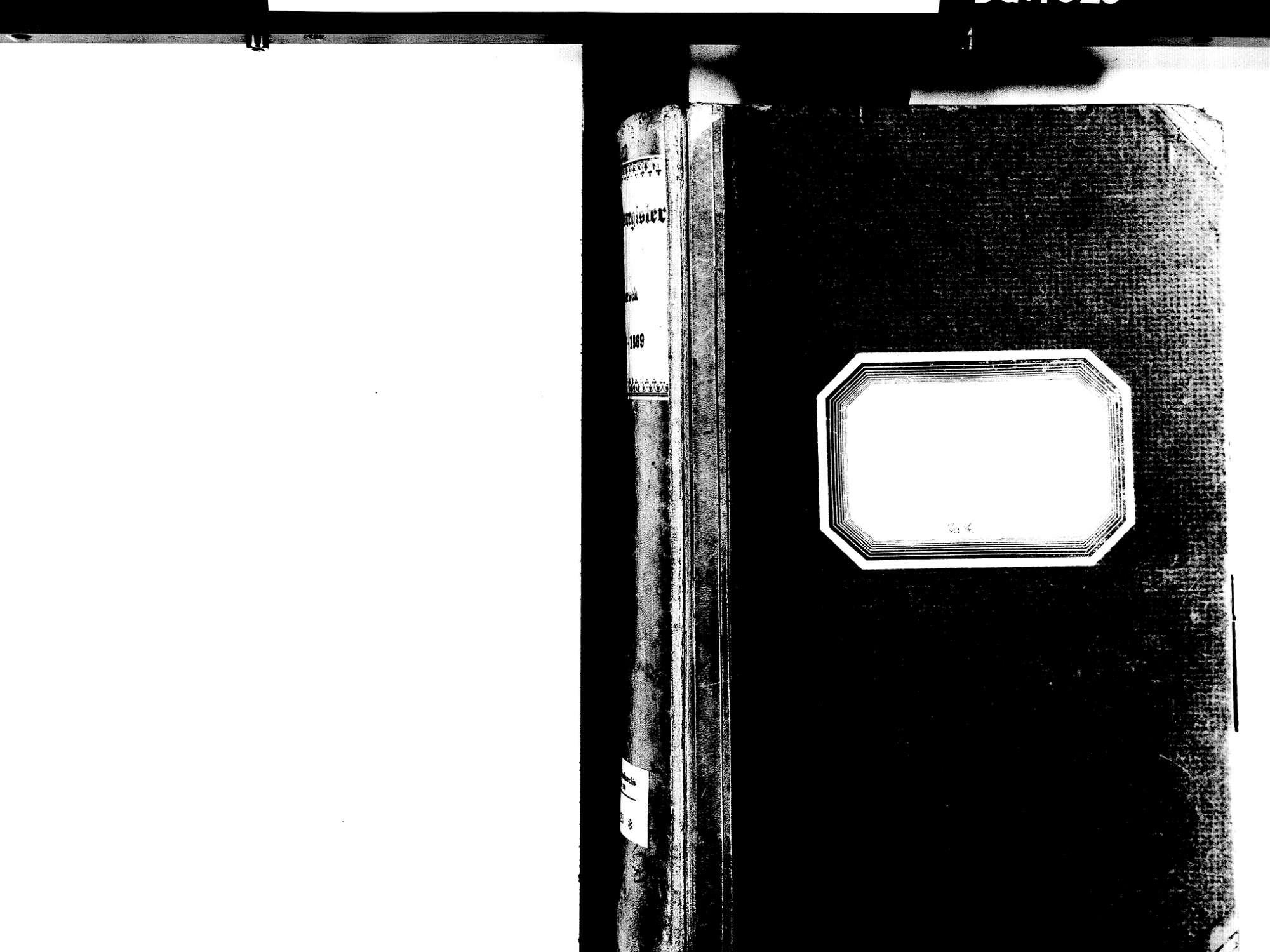 Biberach OG: Katholische Gemeinde: Standesbuch 1853-1869 Enthält: Einzelne Evangelische Einträge, Bild 2