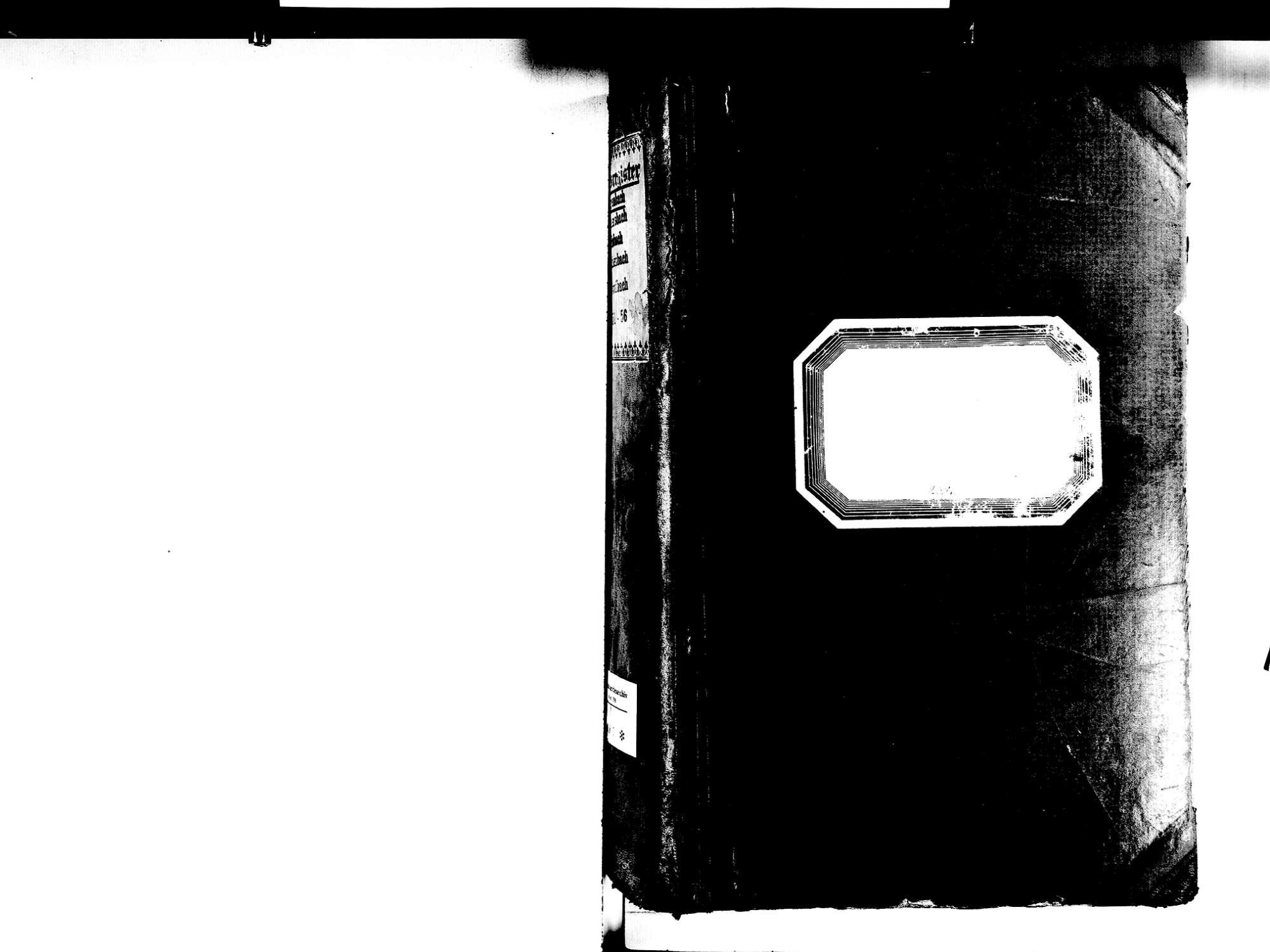 Gengenbach OG; Katholische Gemeinde: Standesbuch 1851-1856 Enthält: Einzelne Evangelische Einträge, Bild 2