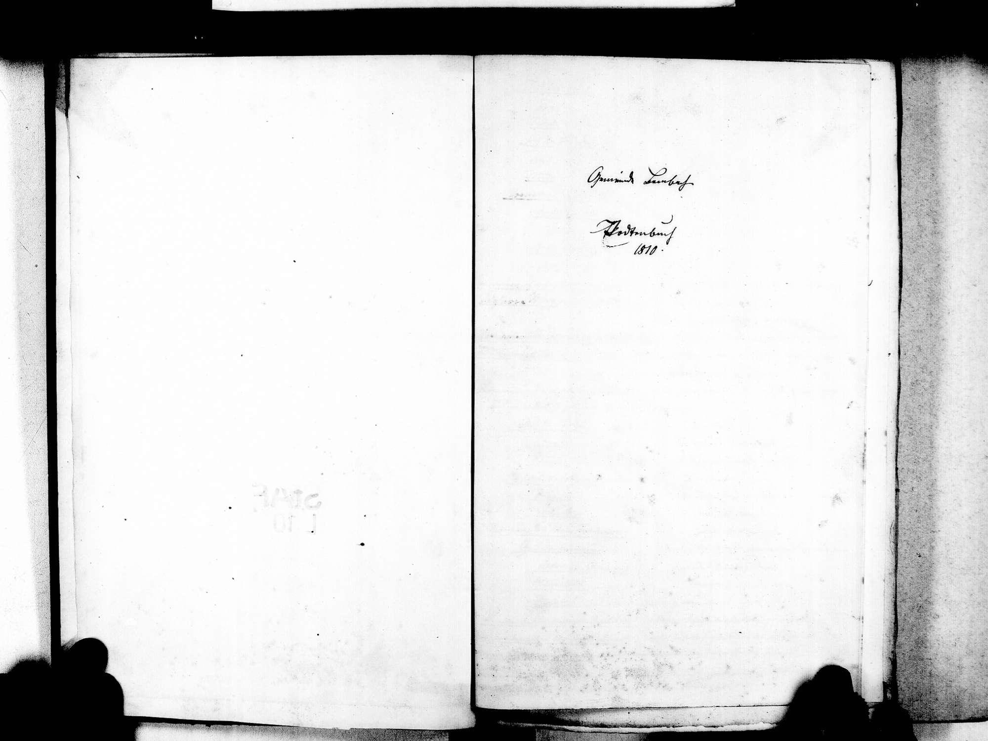 Bombach, Kenzingen EM; Katholische Gemeinde: Sterbebuch 1810-1869, Bild 3
