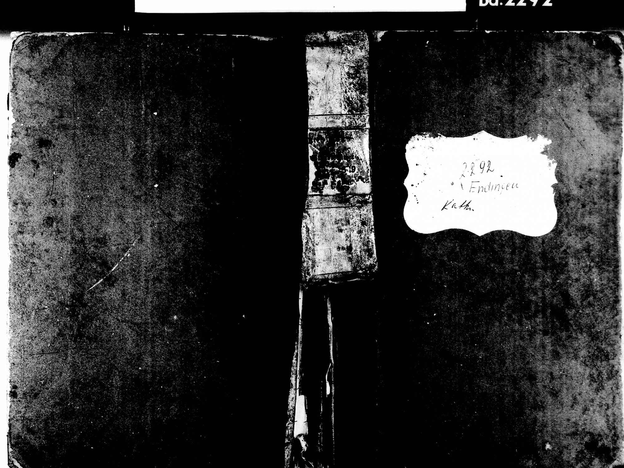 Endingen EM; Evangelische Gemeinde: Geburtenbuch 1830-1849 Endingen EM; Katholische Gemeinde: Geburtenbuch 1830-1849, Bild 1