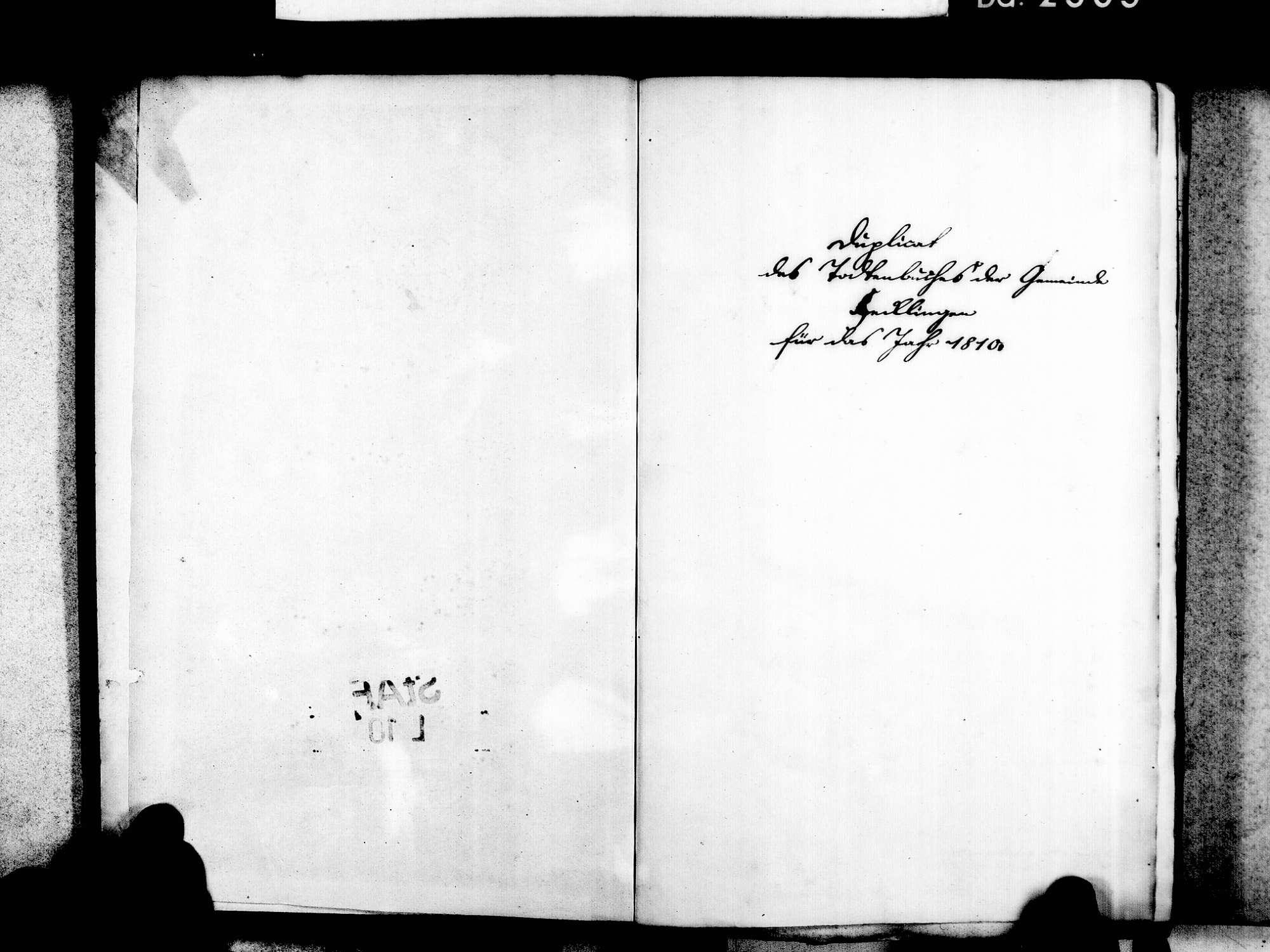 Hecklingen, Kenzingen EM; Katholische Gemeinde: Sterbebuch 1810-1869, Bild 3