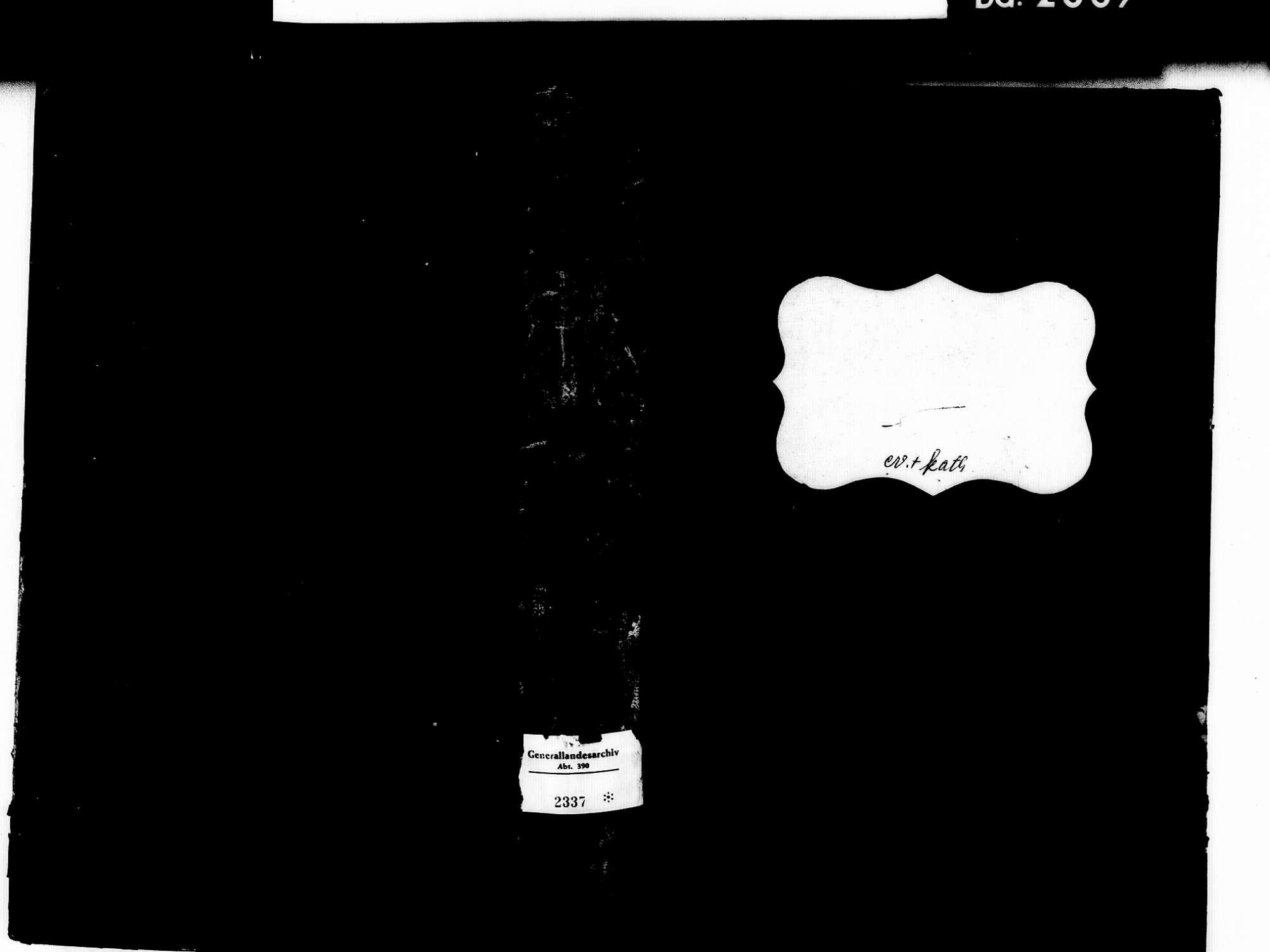 Riegel EM; Evangelische Gemeinde: Sterbebuch 1810-1842 Riegel EM; Katholische Gemeinde: Sterbebuch 1810-1842, Bild 1