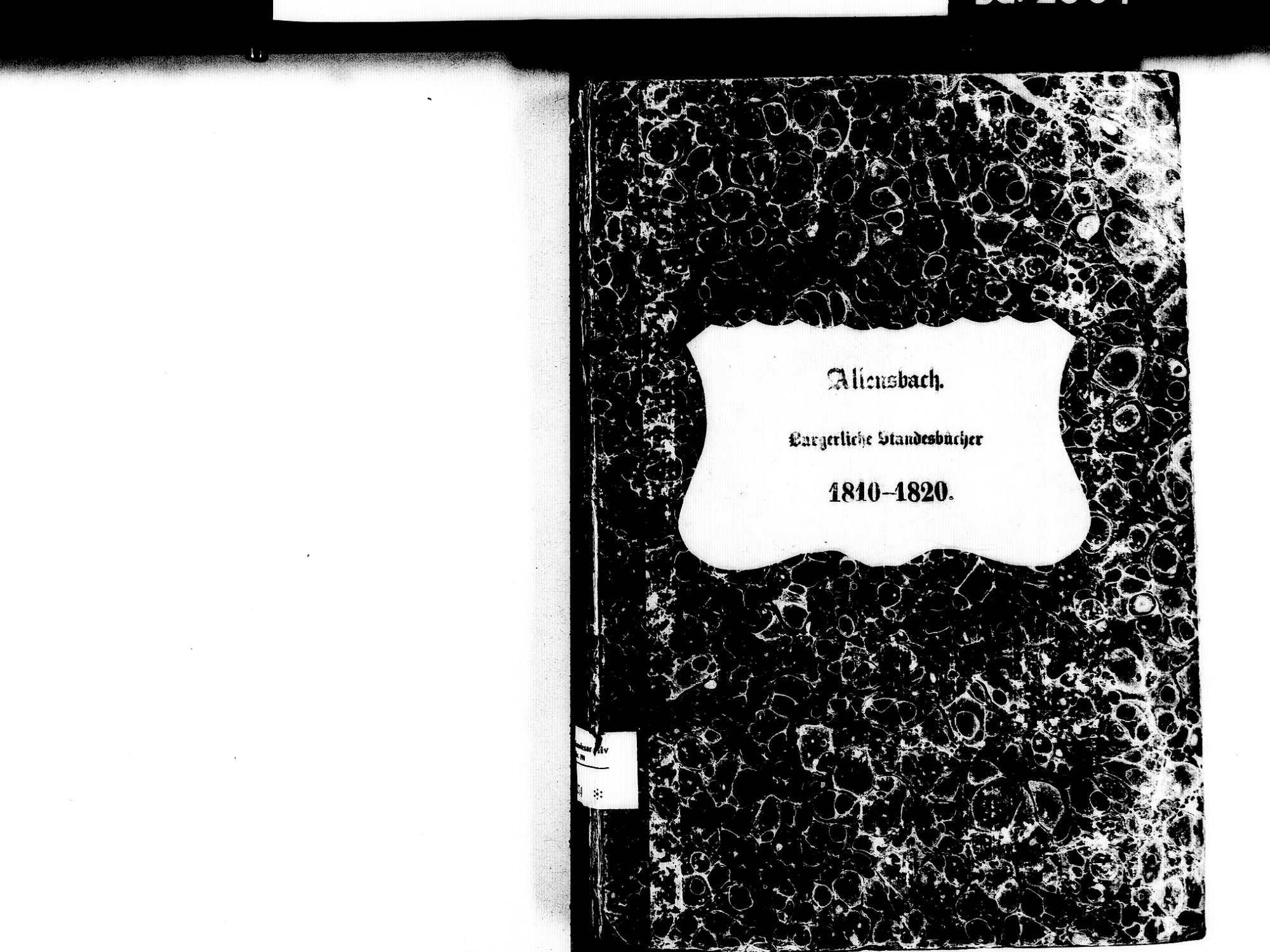 Allensbach KN; Kathollische Gemeinde: Standesbuch 1810-1820, Bild 2