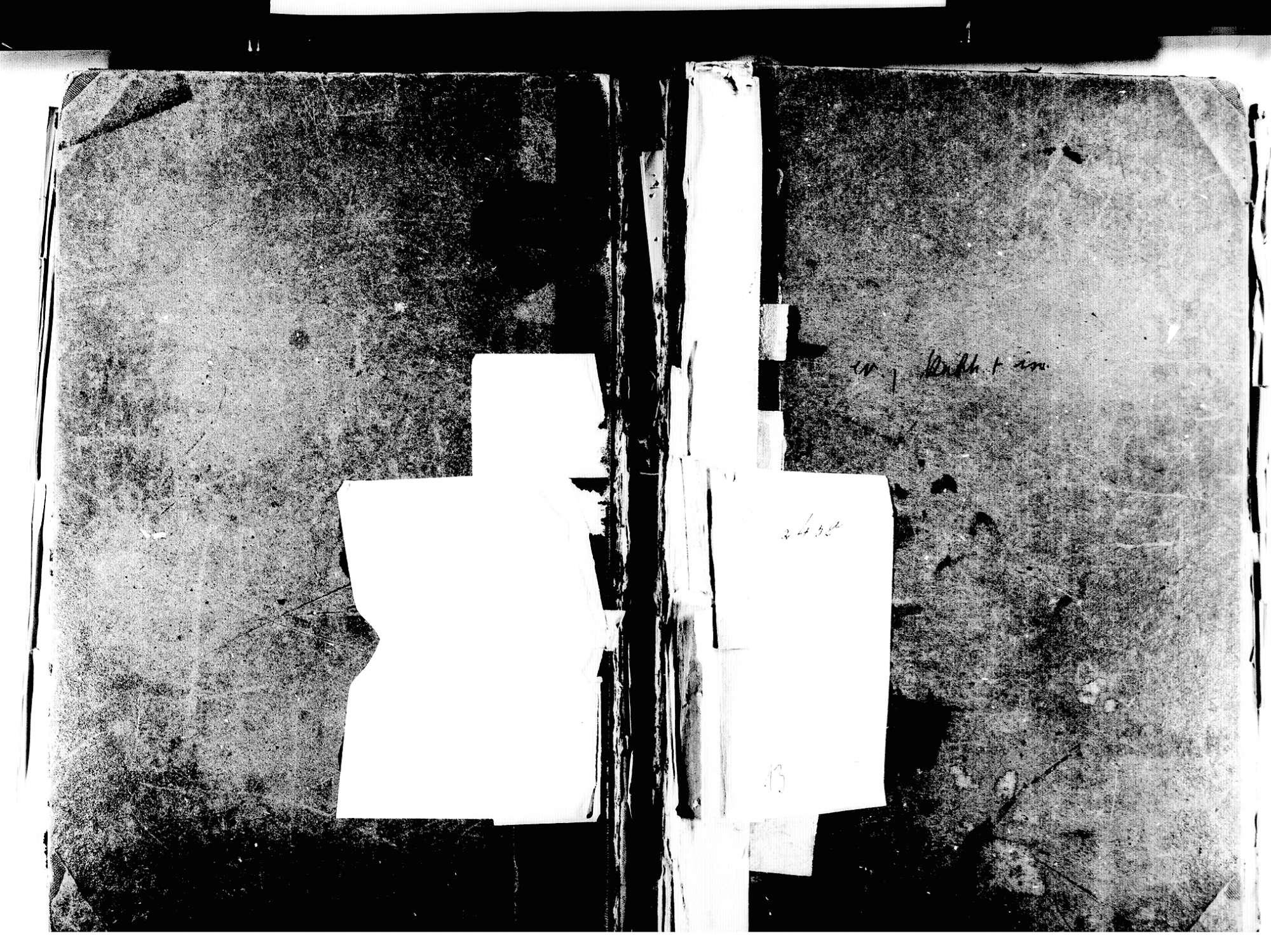 Friesenheim OG; Evangelische Gemeinde: Standesbuch 1846-1855 Friesenheim OG; Katholische Gemeinde: Standesbuch 1846-1855 Friesenheim OG; Israelitische Gemeinde: Standesbuch 1846-1855, Bild 1