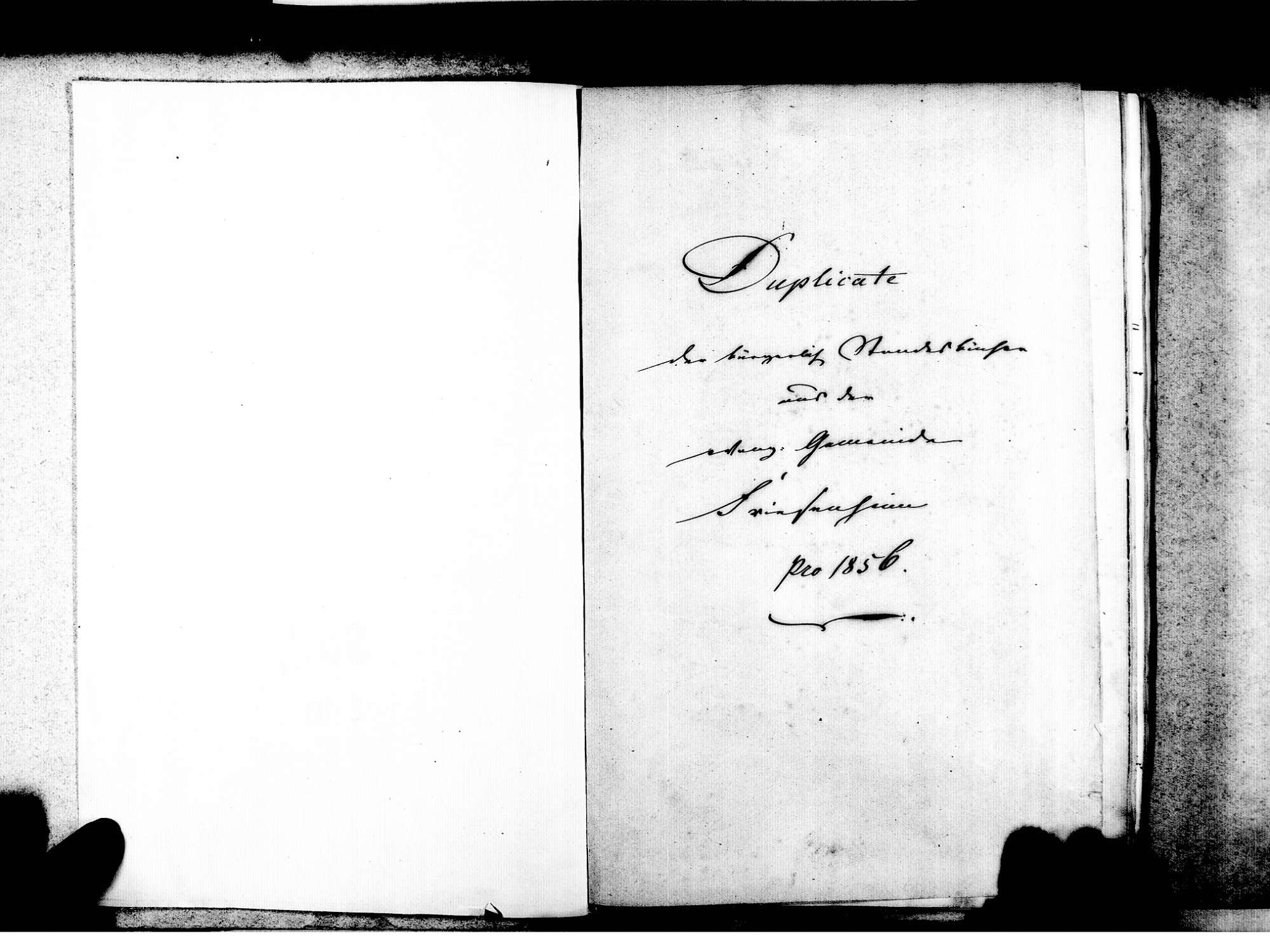 Friesenheim OG; Evangelische Gemeinde: Standesbuch 1856-1869 Friesenheim OG; Katholische Gemeinde: Standesbuch 1856-1869 Friesenheim OG; Israelitische Gemeinde: Standesbuch 1856-1869, Bild 3