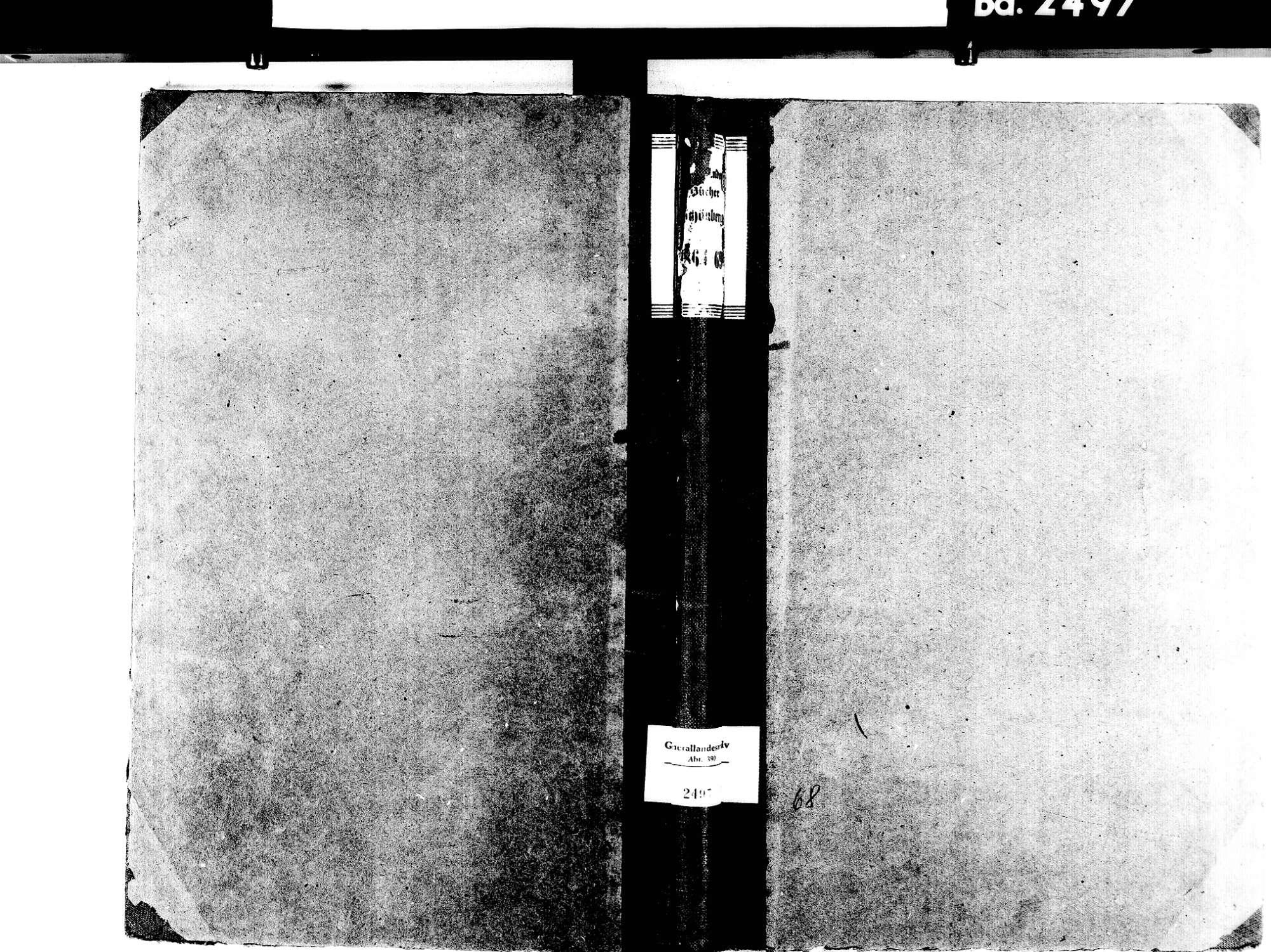 Schönberg, Seelbach OG; Katholische Gemeinde: Standesbuch 1864-1869, Bild 1