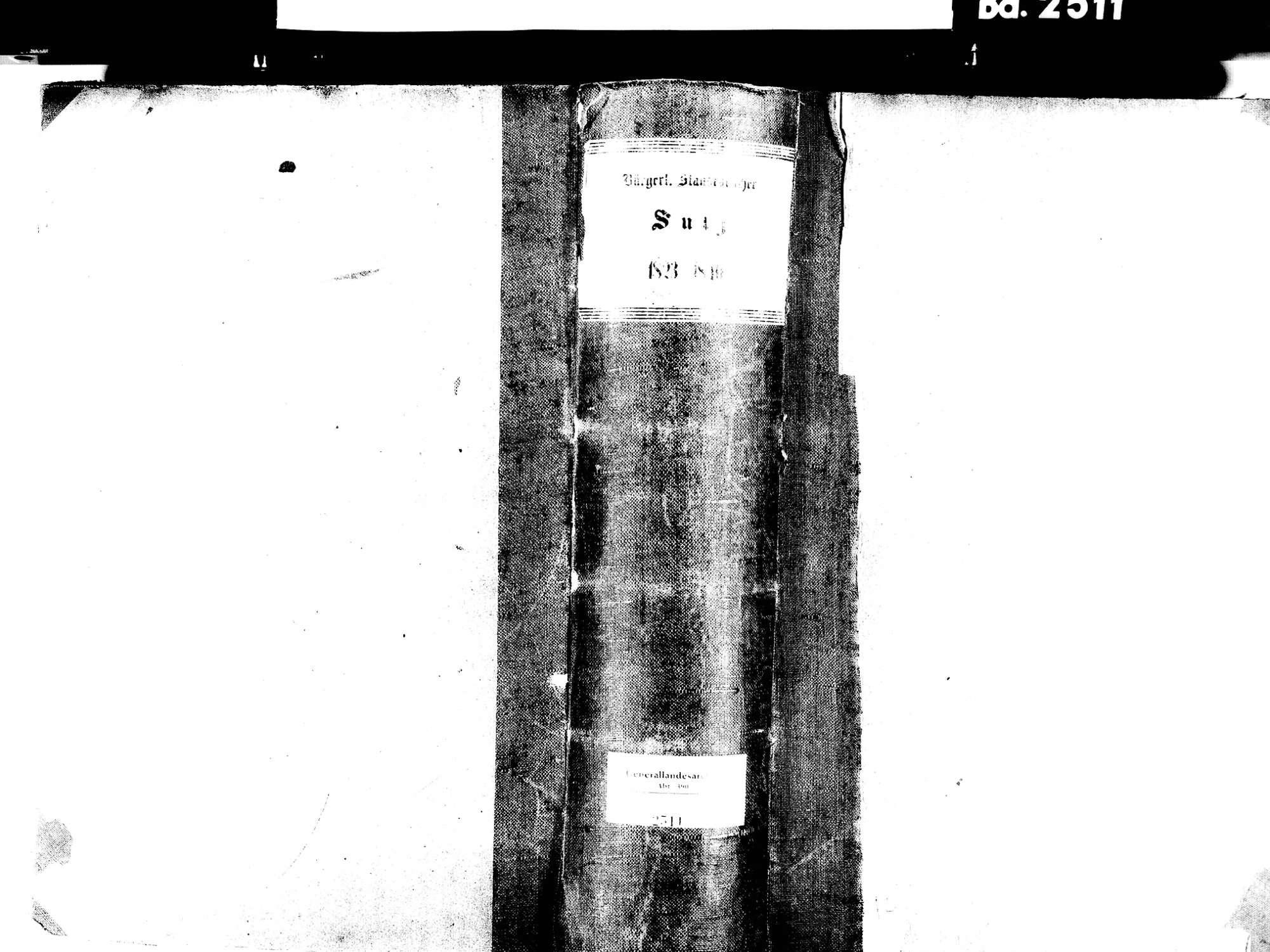 Sulz, Lahr im Schwarzwald OG; Evangelische Gemeinde: Standesbuch 1823-1840 Sulz, Lahr im Schwarzwald OG; Katholische Gemeinde: Standesbuch 1823-1840, Bild 1