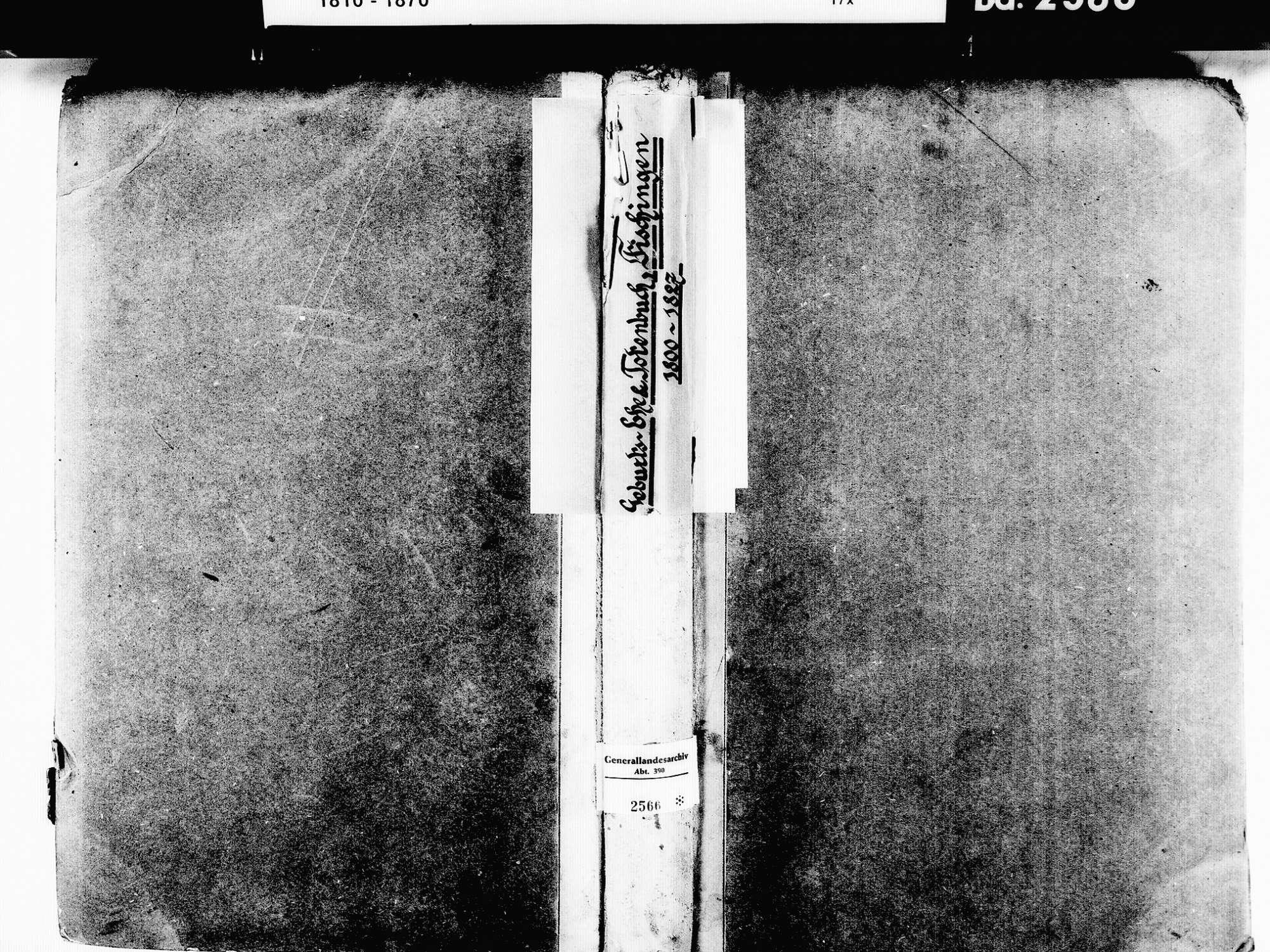 Fischingen LÖ; Evangelische Gemeinde: Standesbuch 1800-1827, Bild 1
