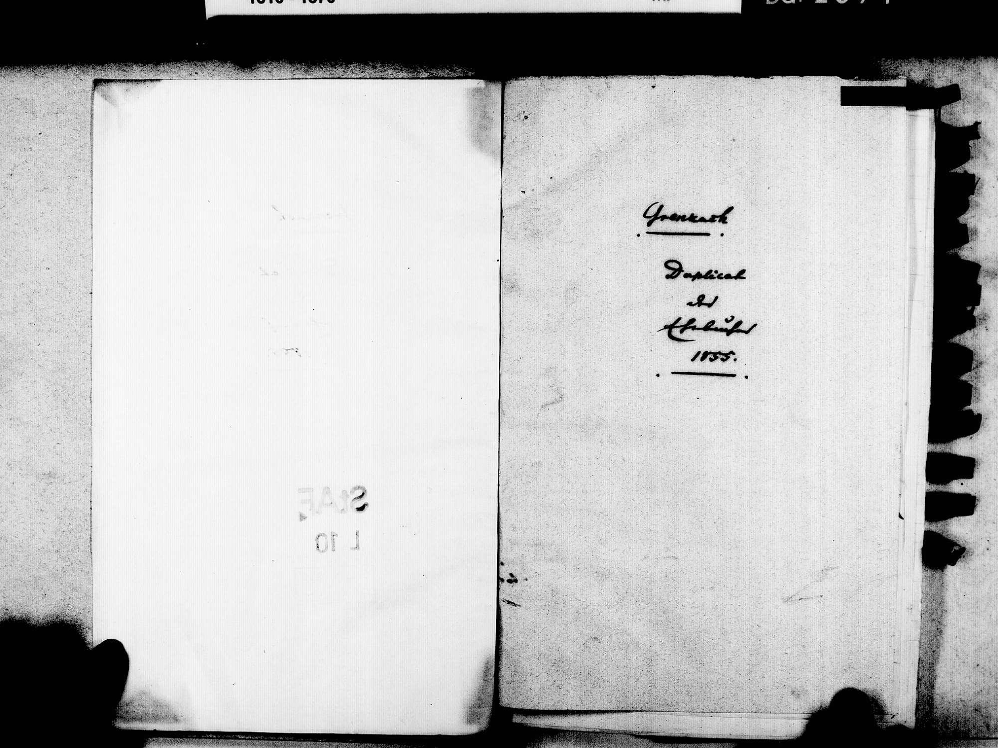 Grenzach, Grenzach-Wyhlen LÖ; Evangelische Gemeinde: Heiratsbuch 1855-1869, Bild 3
