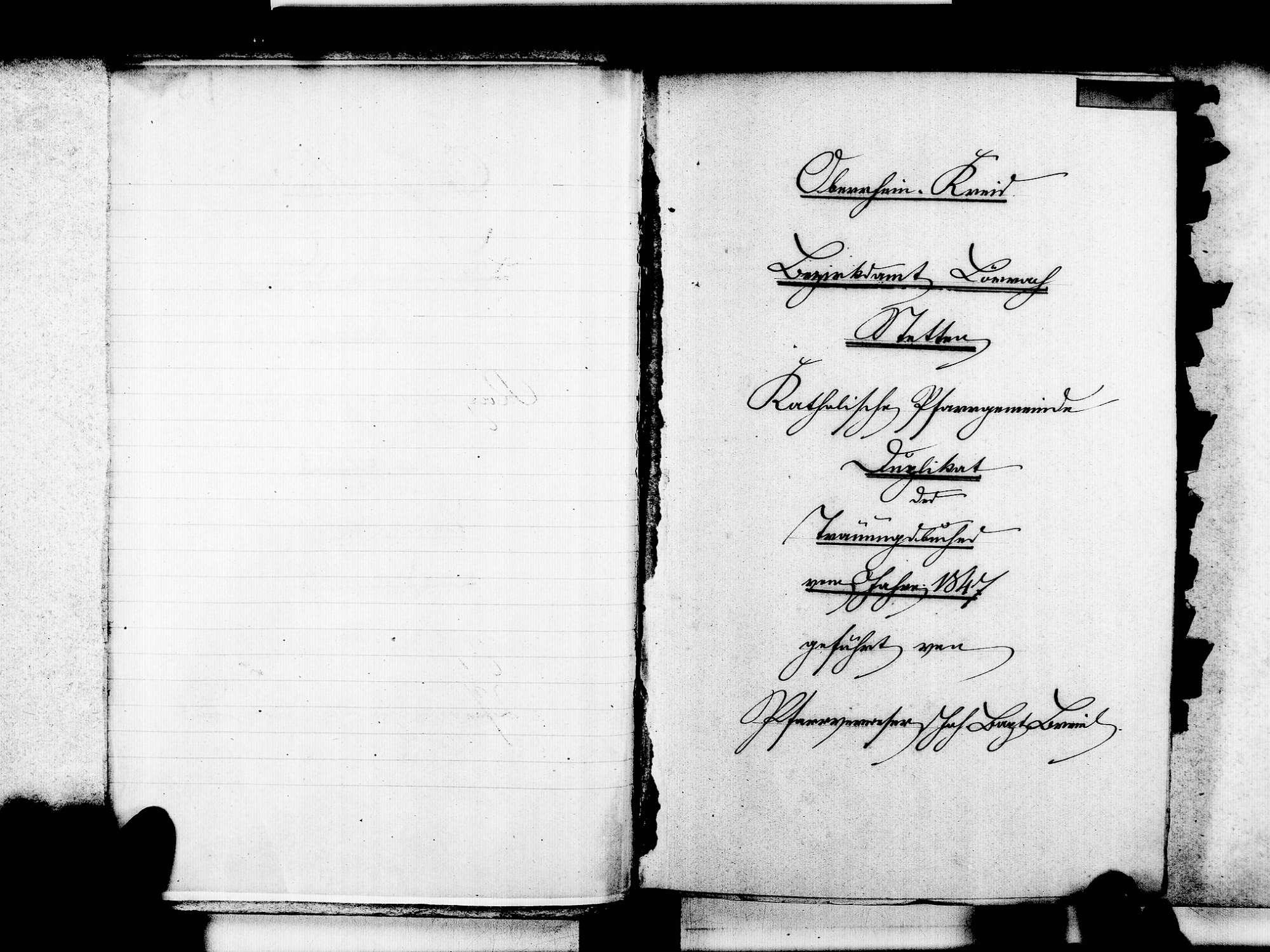 Stetten, aufgegangen in Lörrach LÖ; Katholische Gemeinde: Heiratsbuch 1847-1869, Bild 3