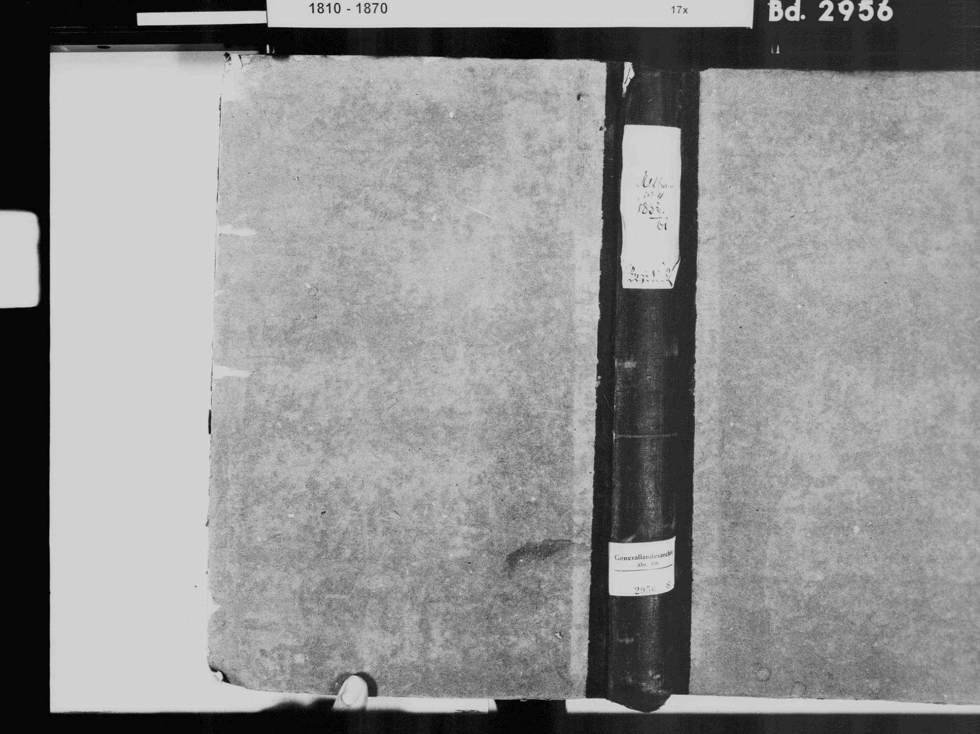Altheim, Leibertingen SIG; Katholische Gemeinde: Standesbuch 1834-1861, Bild 2