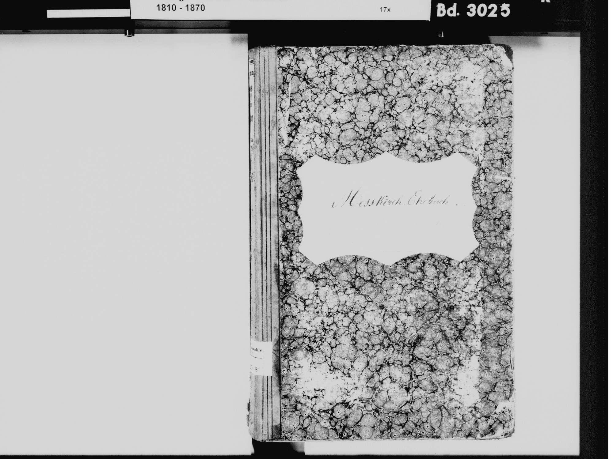 Meßkirch SIG; Katholische Gemeinde: Heiratsbuch 1811-1832, Bild 3