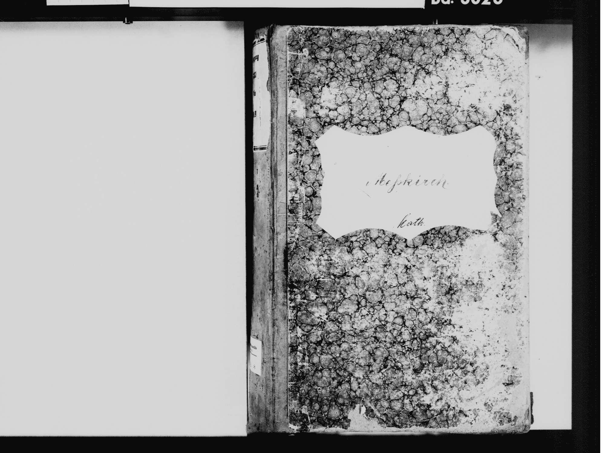 Meßkirch SIG; Katholische Gemeinde: Standesbuch 1833-1849, Bild 3