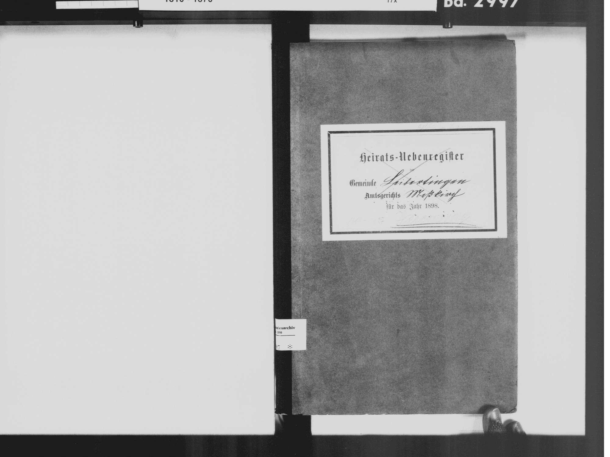 Werenwag, Hausen im Tal, Beuron SIG; Katholische Gemeinde: Standesbuch 1811-1827, Bild 3
