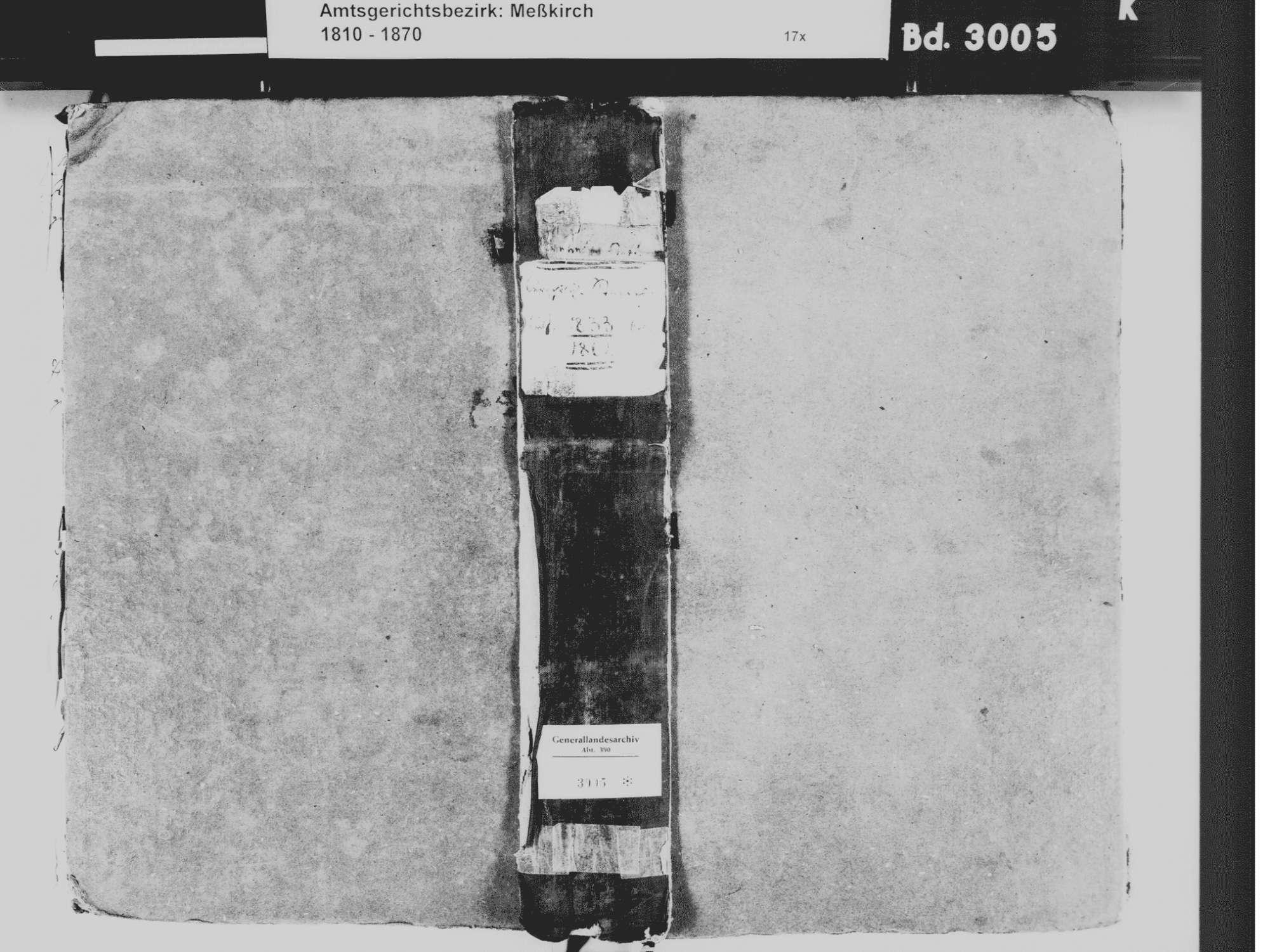 Kreenheinstetten, Leibertingen SIG; Katholische Gemeinde: Standesbuch 1833-1861, Bild 2