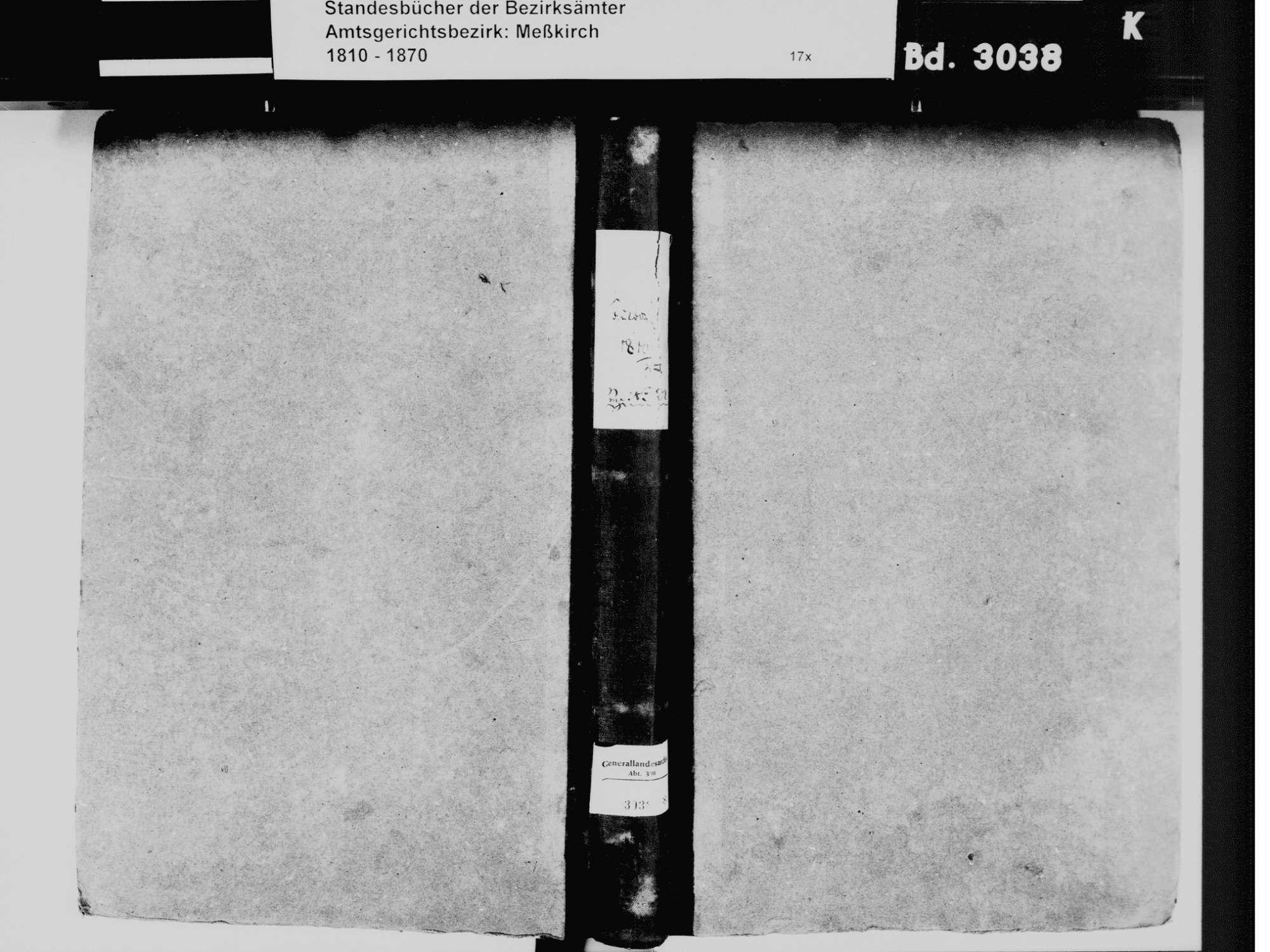 Sauldorf SIG; Katholische Gemeinde: Standesbuch 1810-1835, Bild 2