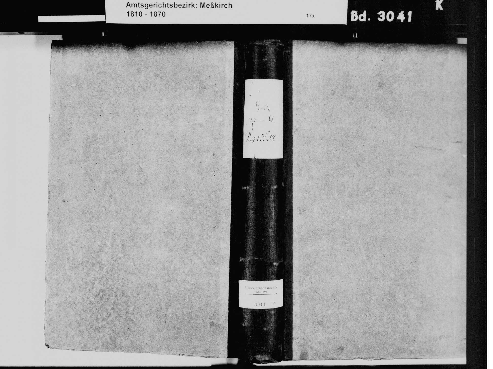 Sauldorf SIG; Katholische Gemeinde: Geburtenbuch 1822, 1840 Sauldorf SIG; Katholische Gemeinde: Heiratsbuch 1823, Bild 2
