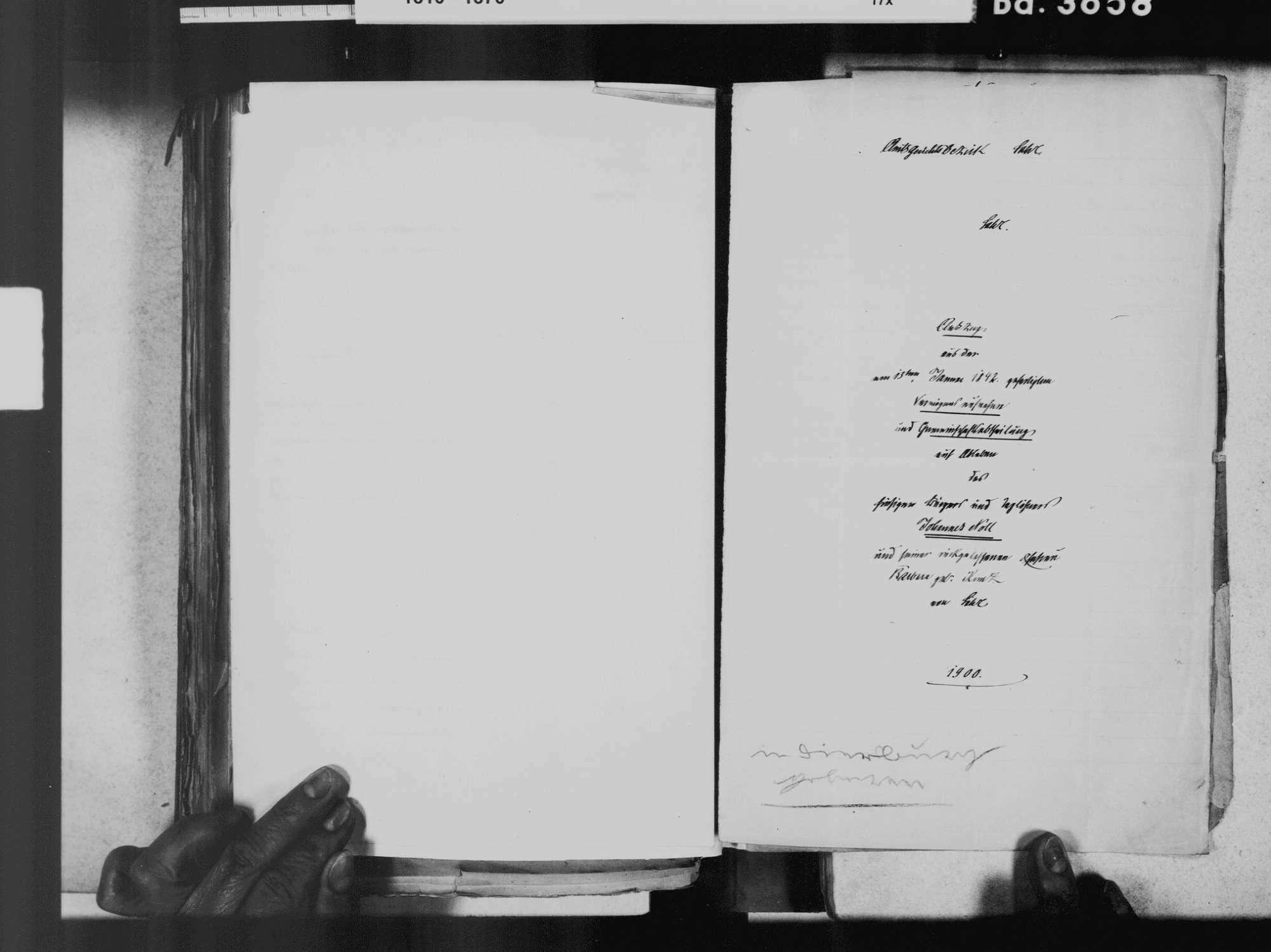 Diersburg, Hohberg OG; Evangelische Gemeinde: Geburtenbuch 1810-1869, Bild 3