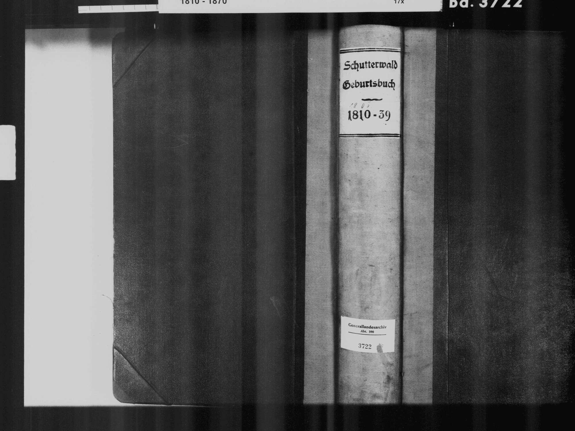 Schutterwald OG; Katholische Gemeinde: Geburtenbuch 1806-1839 Schutterwald OG; Katholische Gemeinde: Heiratsbuch 1827, Bild 2