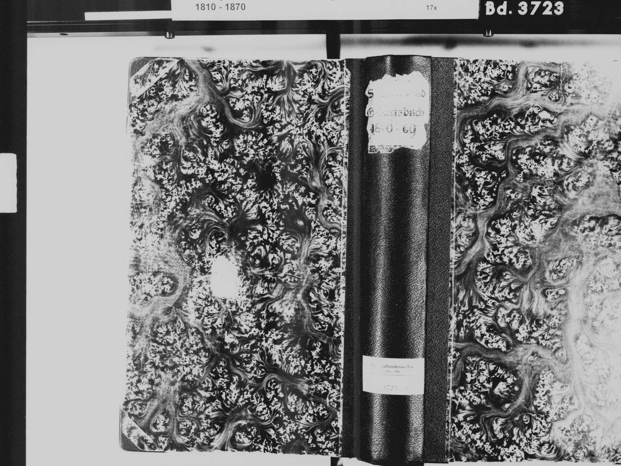Schutterwald OG; Katholische Gemeinde: Geburtenbuch 1840-1870, Bild 2