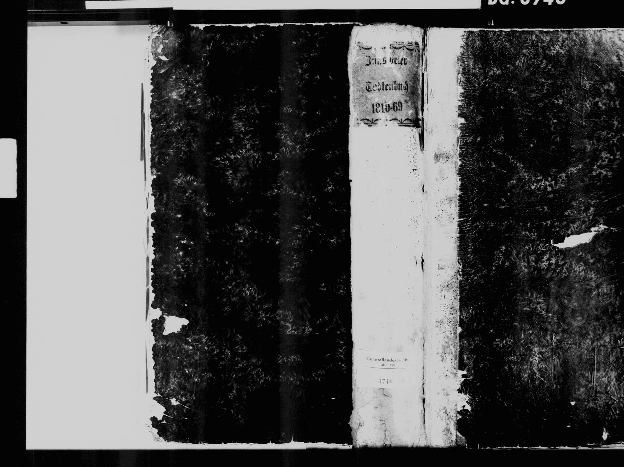 Zunsweier, Offenburg OG; Katholische Gemeinde: Sterbebuch 1810-1870, Bild 2
