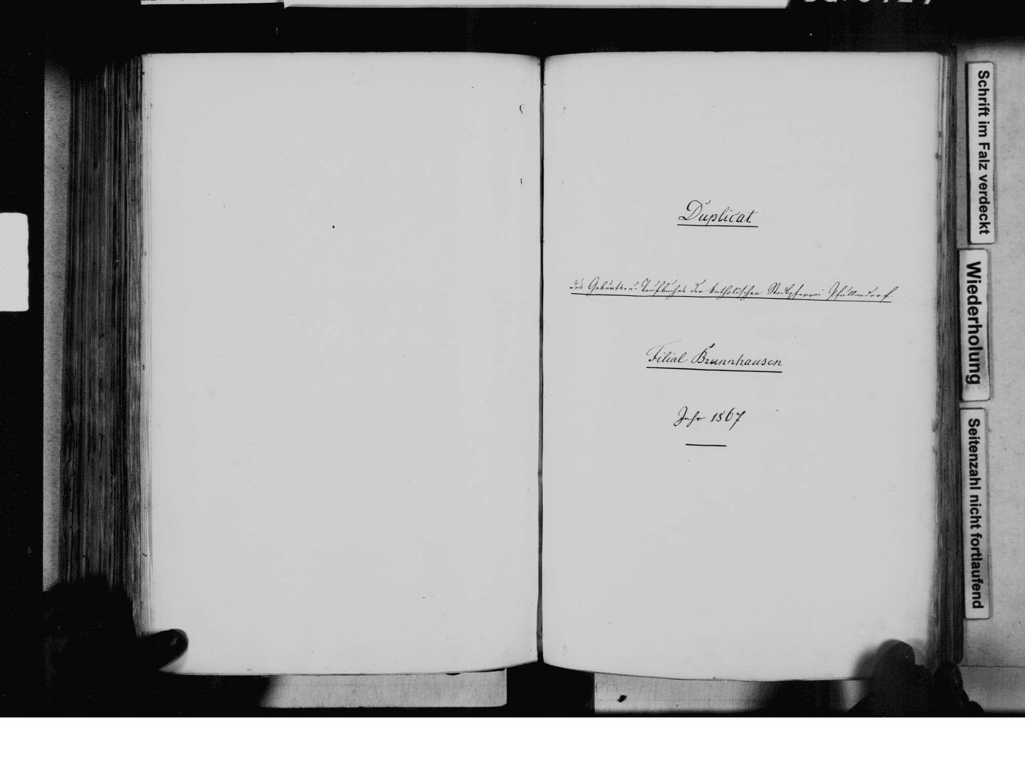 Pfullendorf SIG; Katholische Gemeinde: Standesbuch 1858-1870, Bild 3