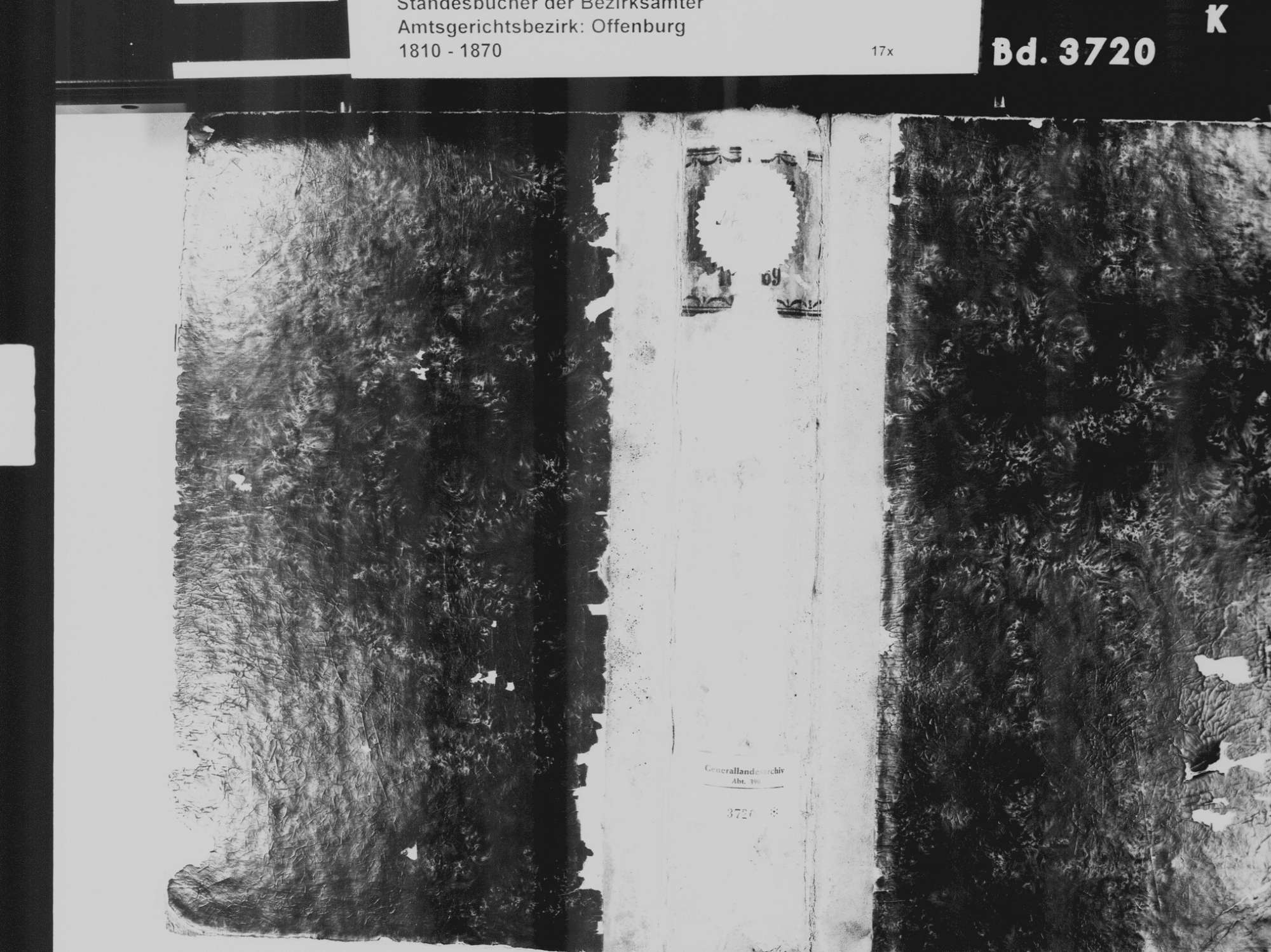 Ortenberg OG; Katholische Gemeinde: Sterbebuch 1810-1870, Bild 2