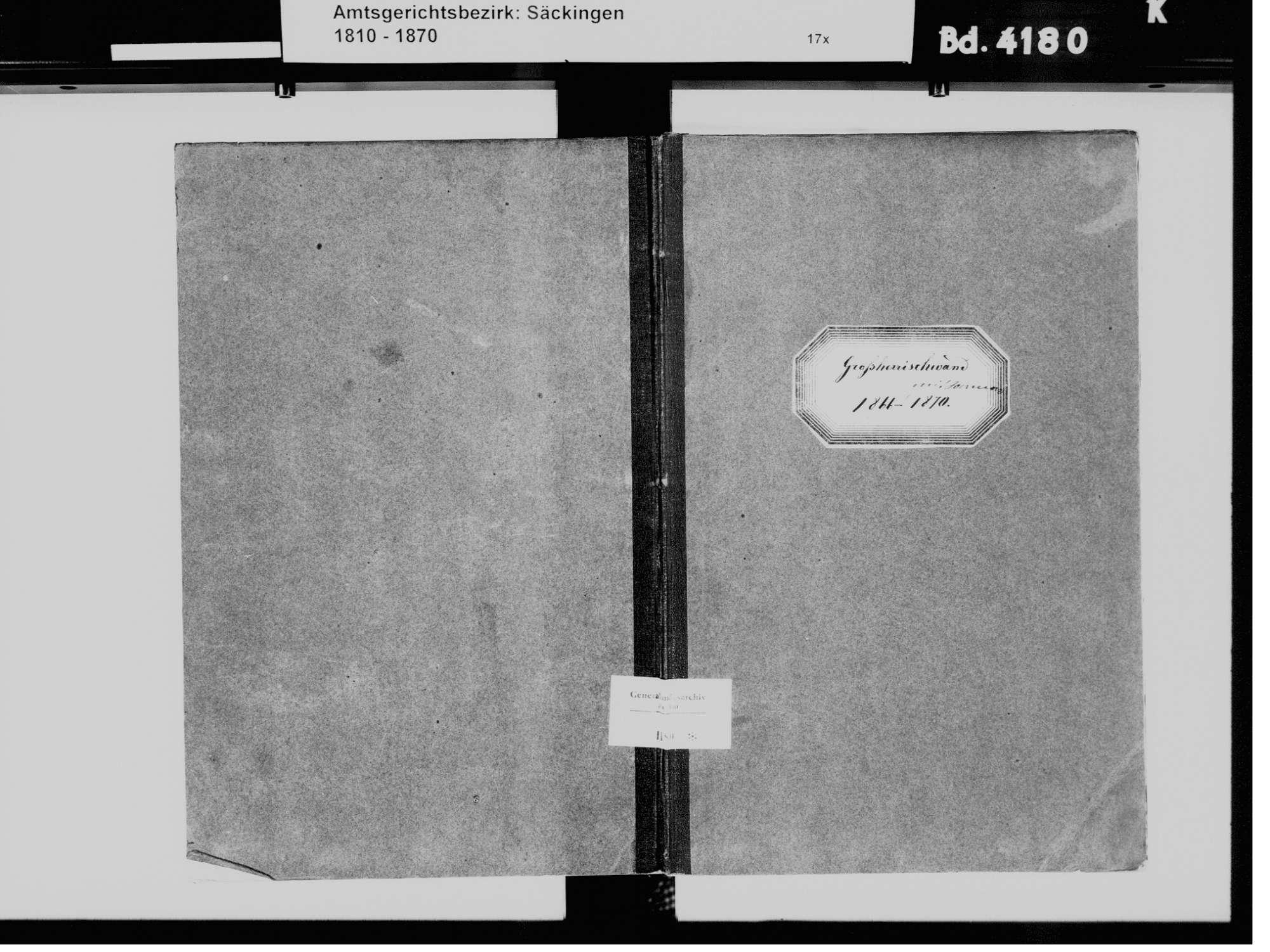 Großherrischried, Herrischried WT; Katholische Gemeinde: Heiratsbuch 1866-1870, Bild 2