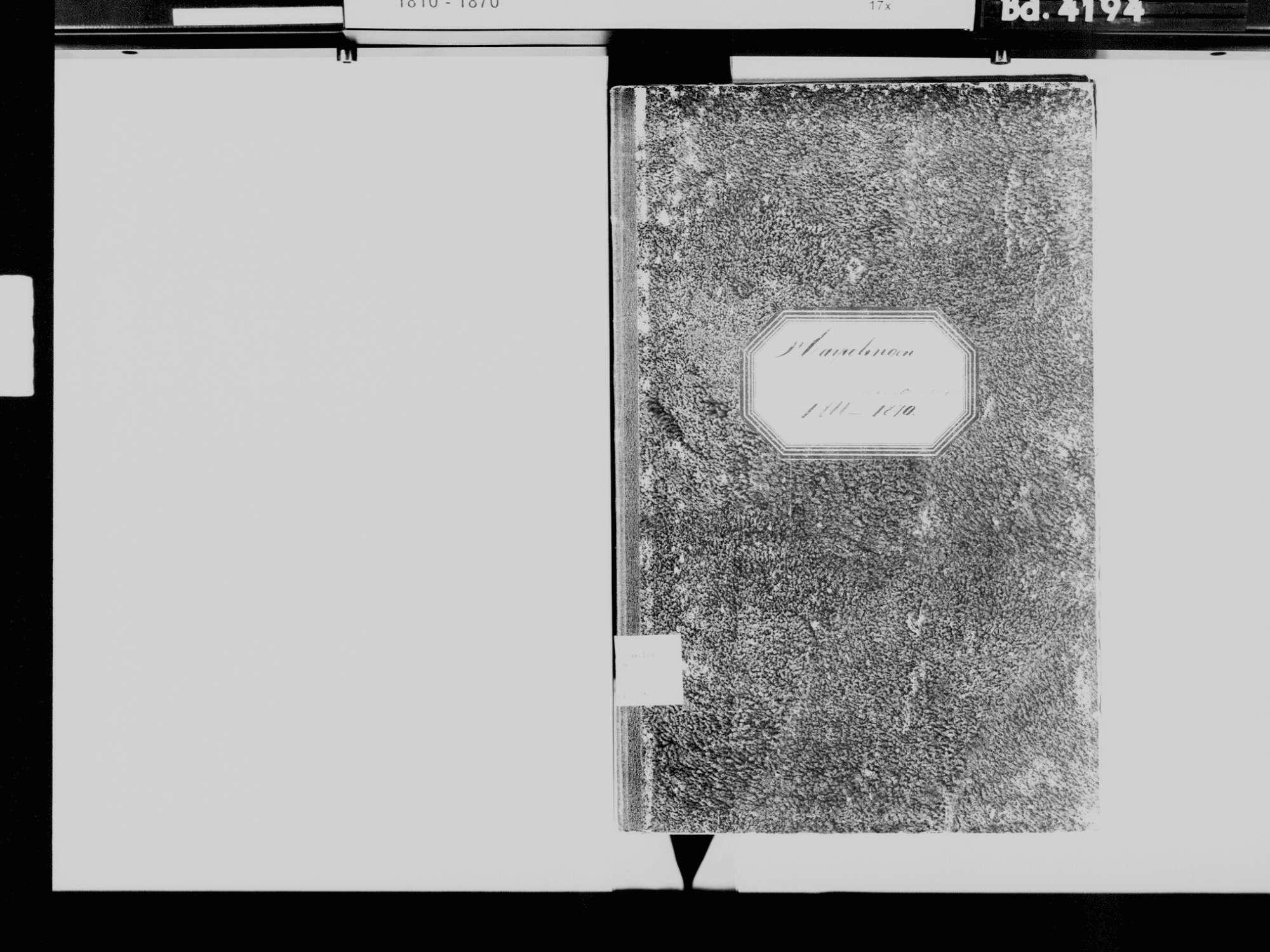 Harpolingen, Bad Säckingen WT; Katholische Gemeinde: Sterbebuch 1866-1870, Bild 3