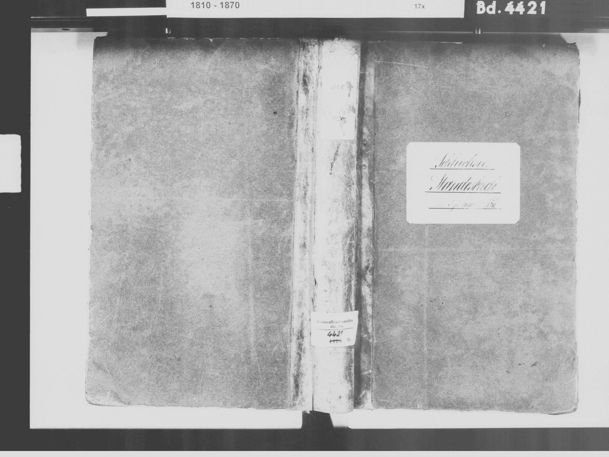 Schluchsee FR; Katholische Gemeinde: Standesbuch 1860-1869, Bild 2