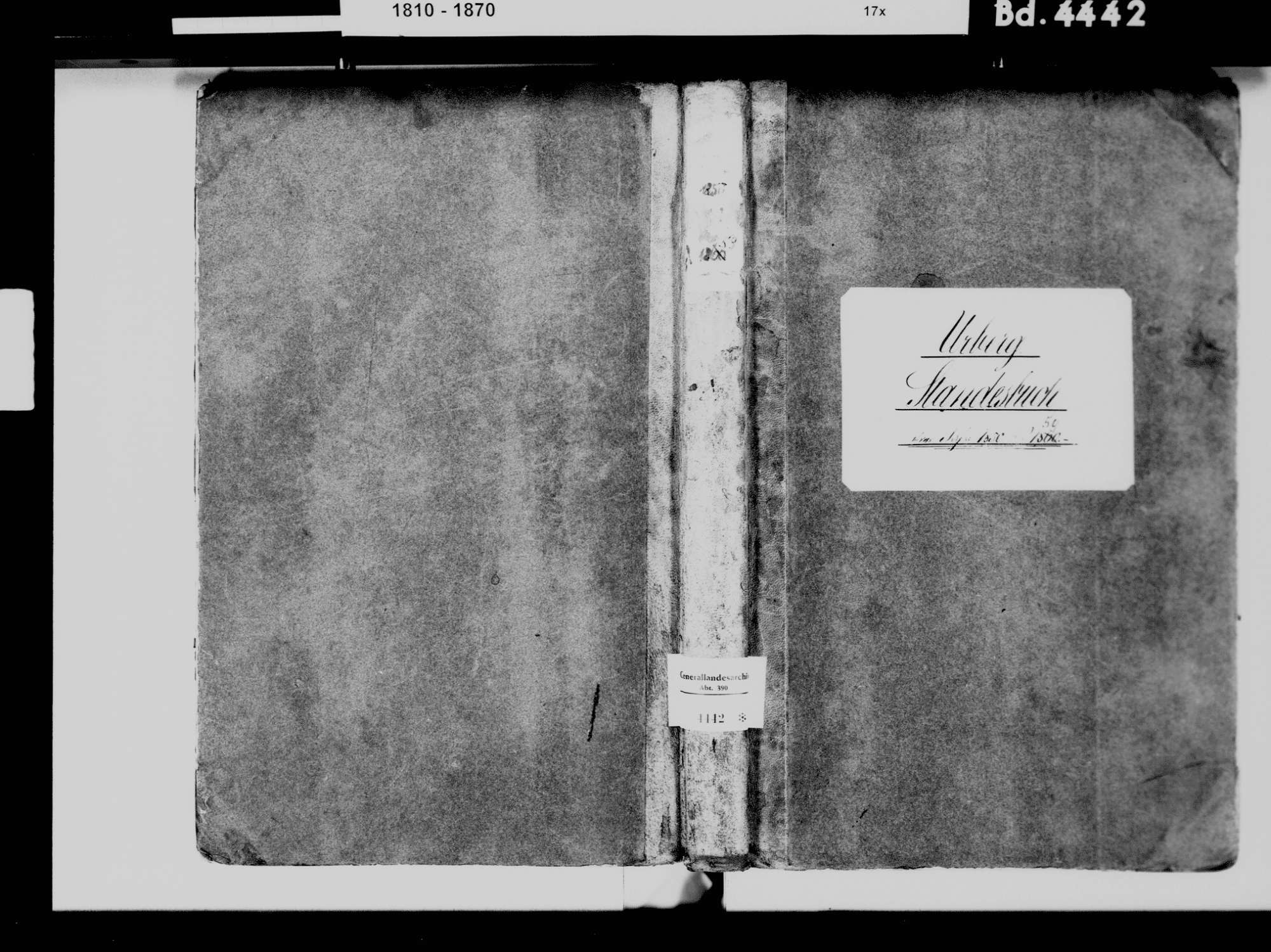 Urberg, Dachsberg (Südschwarzwald) WT; Katholische Gemeinde: Standesbuch 1850-1859, Bild 2