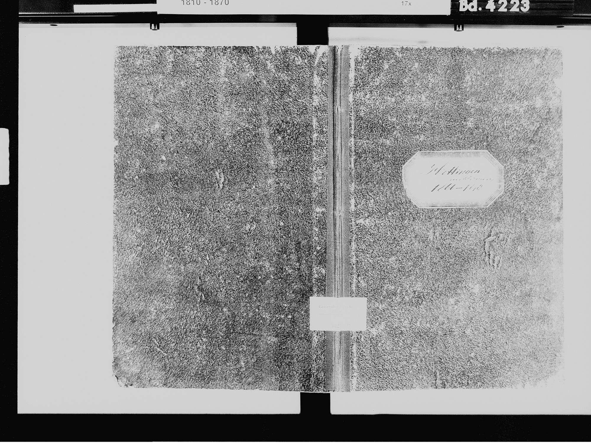Hottingen, Rickenbach WT; Katholische Gemeinde: Sterbebuch 1866-1870, Bild 2