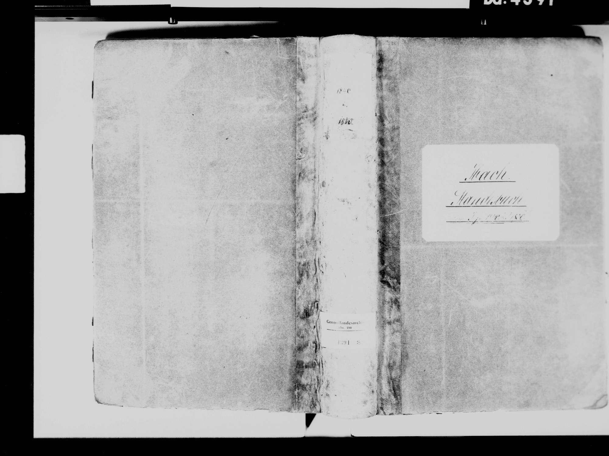 Ibach WT; Katholische Gemeinde: Standesbuch 1840-1849, Bild 2