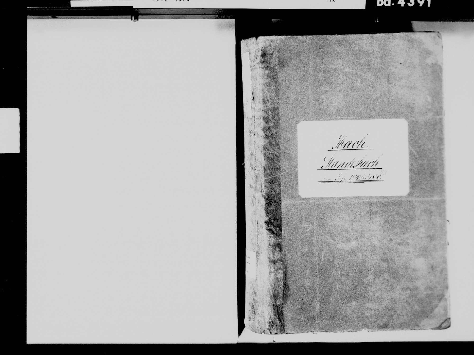 Ibach WT; Katholische Gemeinde: Standesbuch 1840-1849, Bild 3