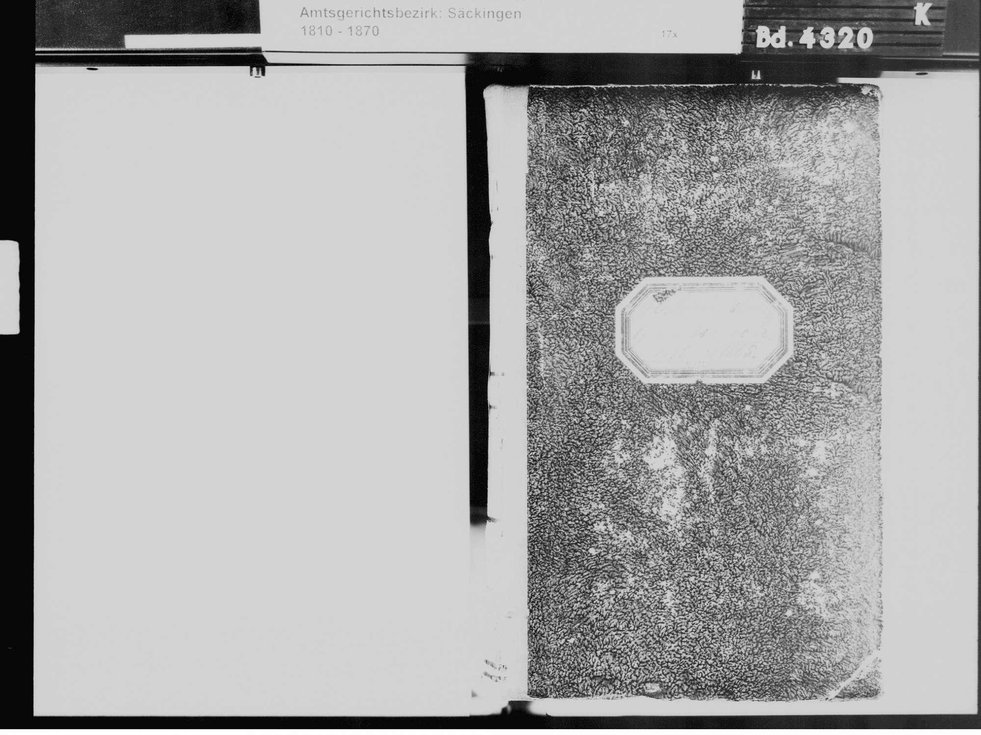 Niederschwörstadt, Schwörstadt LÖ; Katholische Gemeinde: Geburtenbuch 1810-1865 Niederschwörstadt, Schwörstadt LÖ; Katholische Gemeinde: Heiratsbuch 1811, 1814 Niederschwörstadt, Schwörstadt LÖ; Katholische Gemeinde: Sterbebuch 1810, 1811, 1814, Bild 3