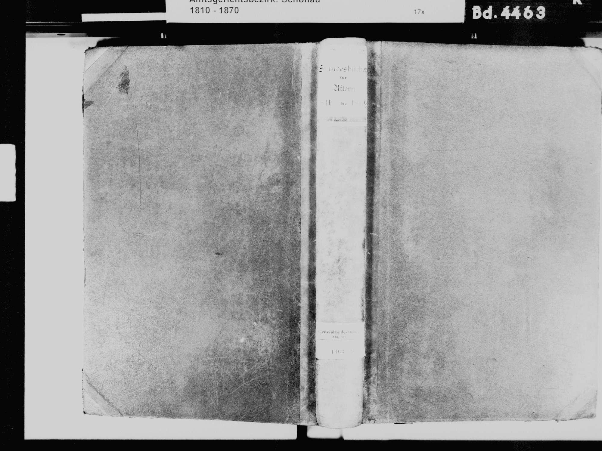 Aitern LÖ; Katholische Gemeinde: Standesbuch 1811-1869, Bild 2