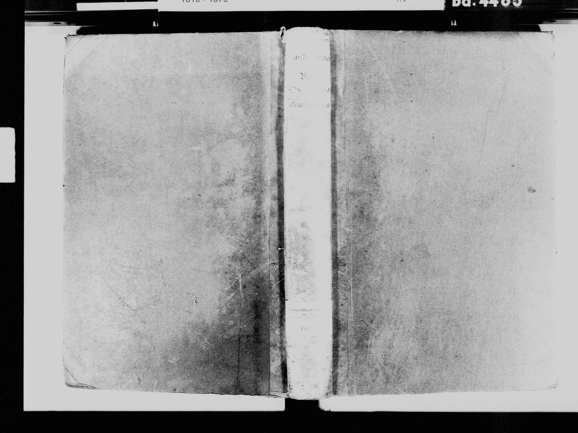 Böllen LÖ; Katholische Gemeinde: Standesbuch 1828-1869 [Heirats- und Sterbebuch siehe Geburten 1828], Bild 2
